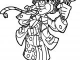 Clown Coloring Page WeColoringPage 046