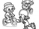 Clown Coloring Page WeColoringPage 054