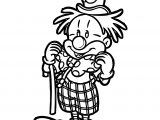Clown Coloring Page WeColoringPage 055