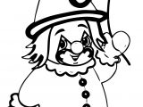 Clown Coloring Page WeColoringPage 057