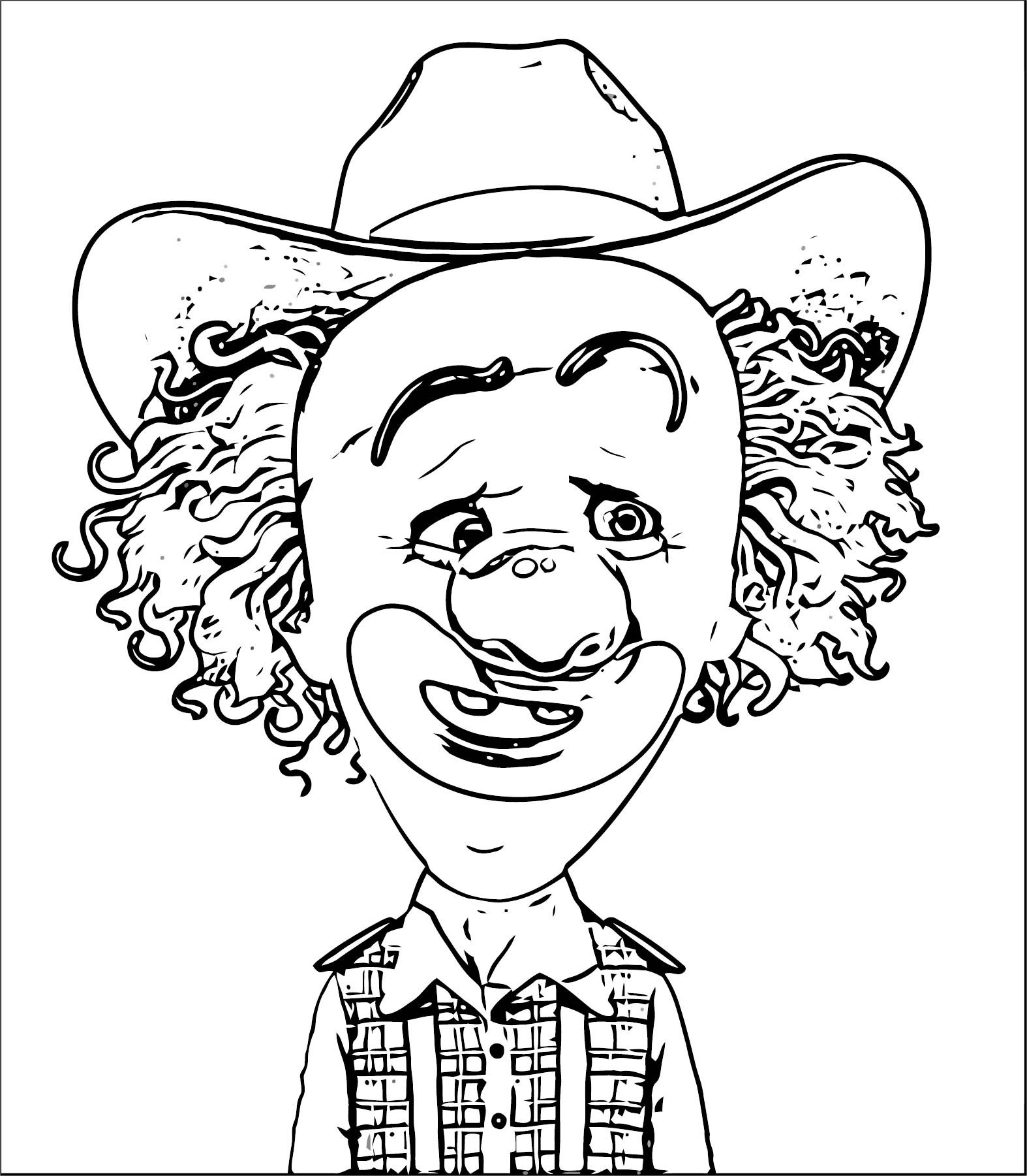 Clown Coloring Page WeColoringPage 061