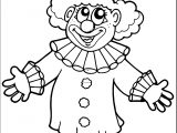 Clown Coloring Page WeColoringPage 065