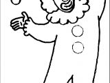 Clown Coloring Page WeColoringPage 066