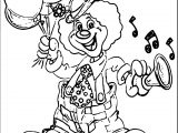 Clown Coloring Page WeColoringPage 082