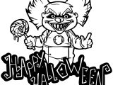 Clown Coloring Page WeColoringPage 087