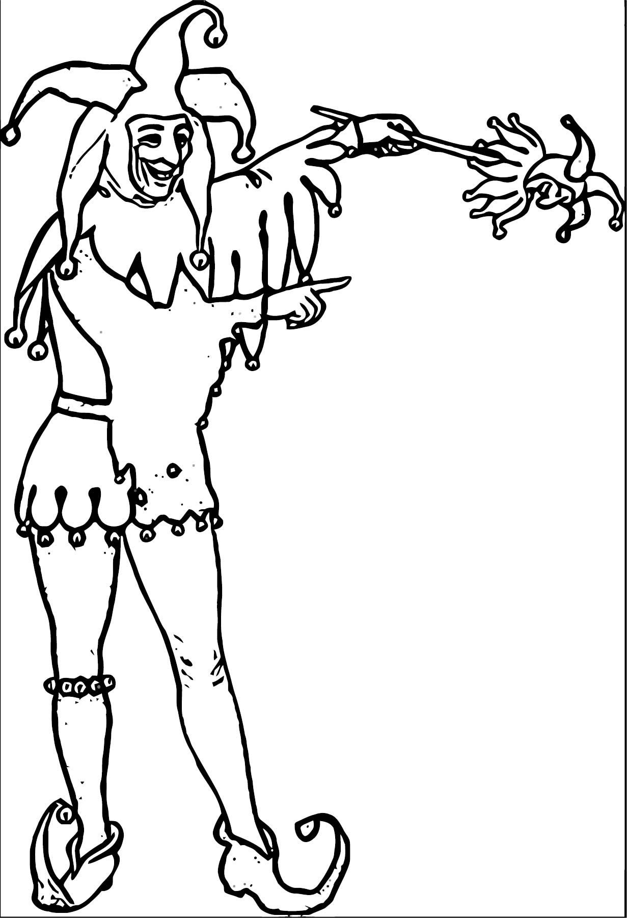 Clown Coloring Page WeColoringPage 092