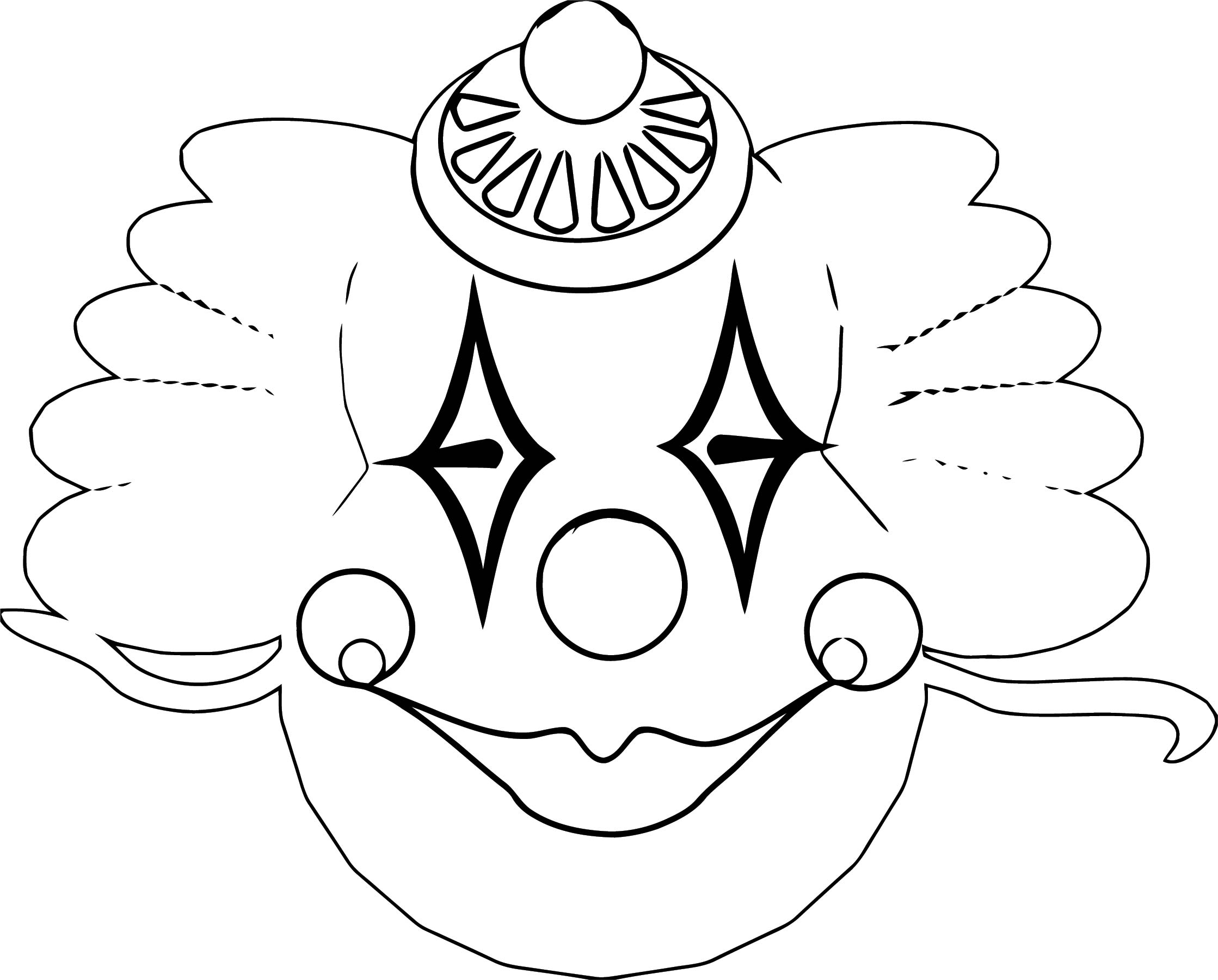 Clown Coloring Page WeColoringPage 102