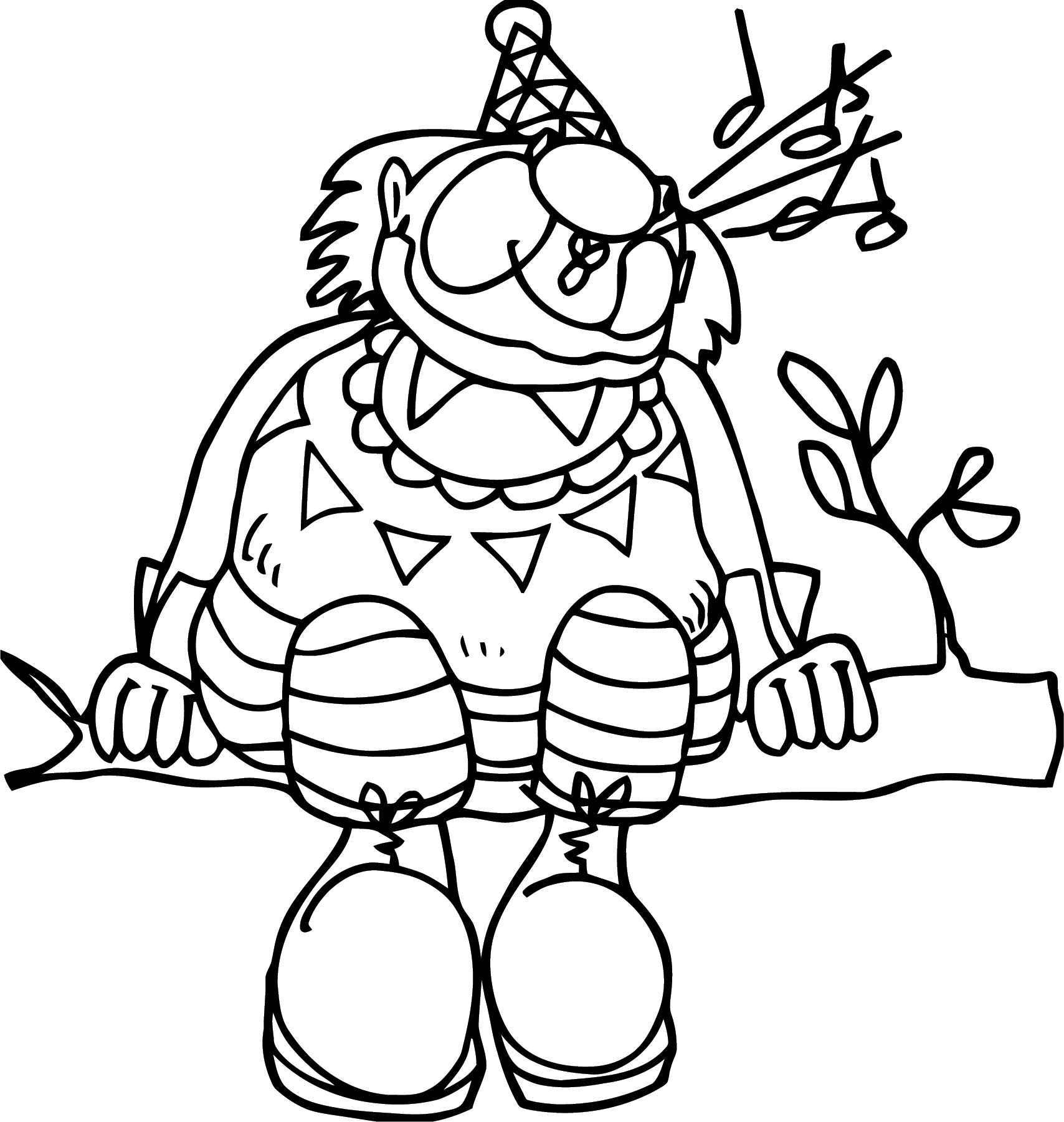Clown Coloring Page WeColoringPage 130