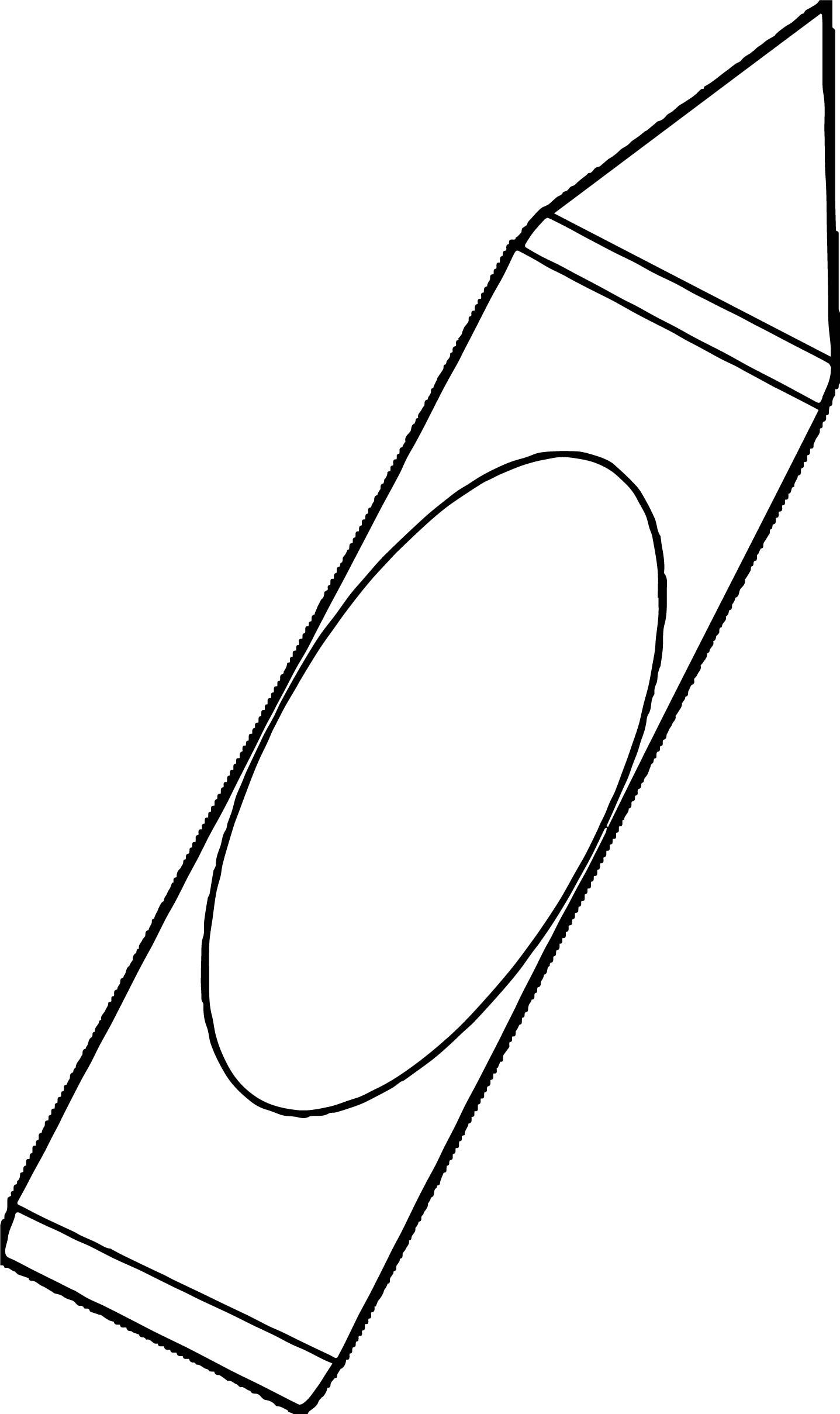 Crayon We Coloring Page 014