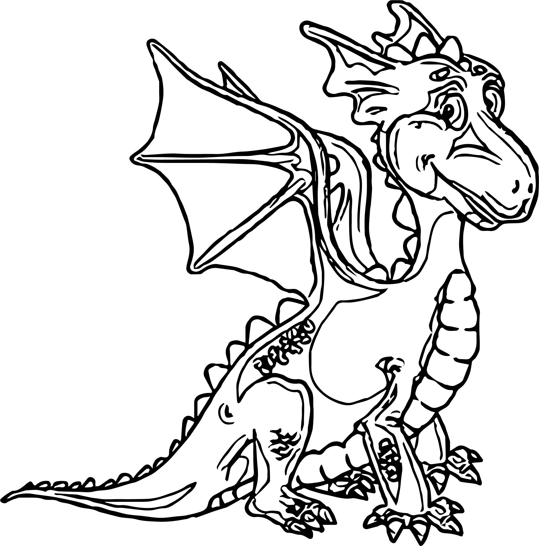 Dragon Coloring Page WeColoringPage 30