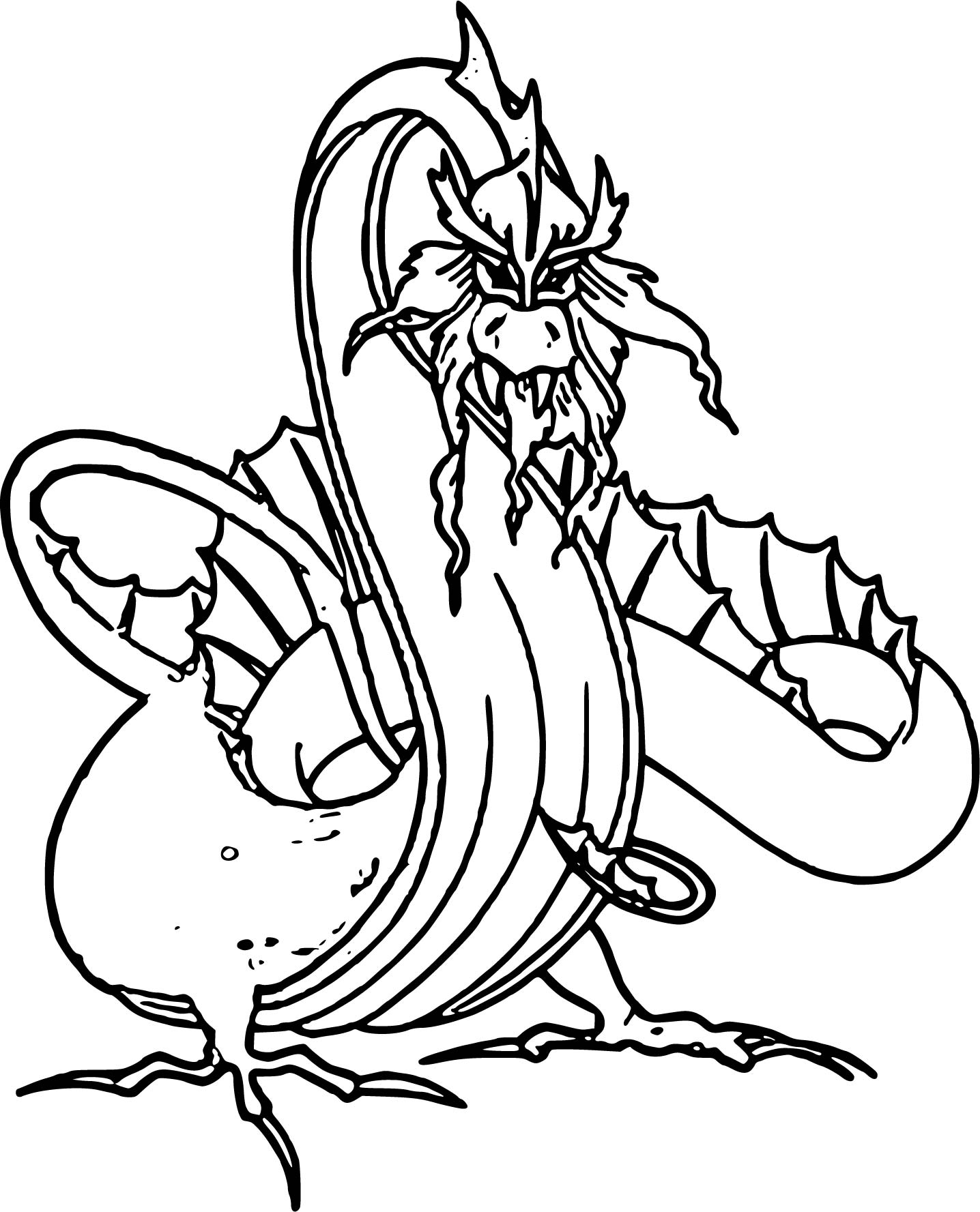Dragon Coloring Page WeColoringPage 35
