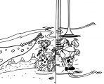 Flintstones Jetsons Coloring Page