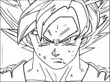 Goku We Face Coloring Page