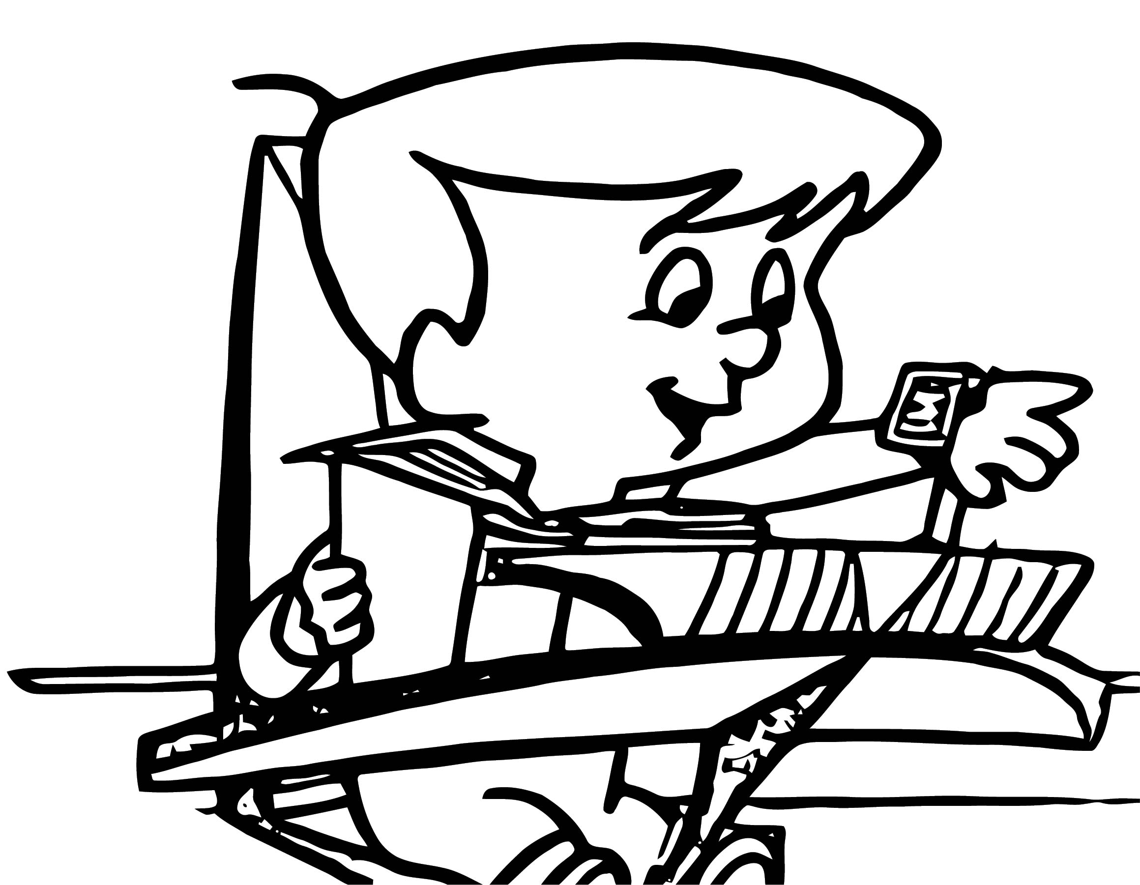 Ht Watch Jetsons Coloring Page