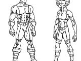 Hybrid Character Designs Cartoonized Coloring page
