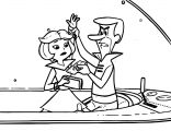Jane Jetson Coloring Page