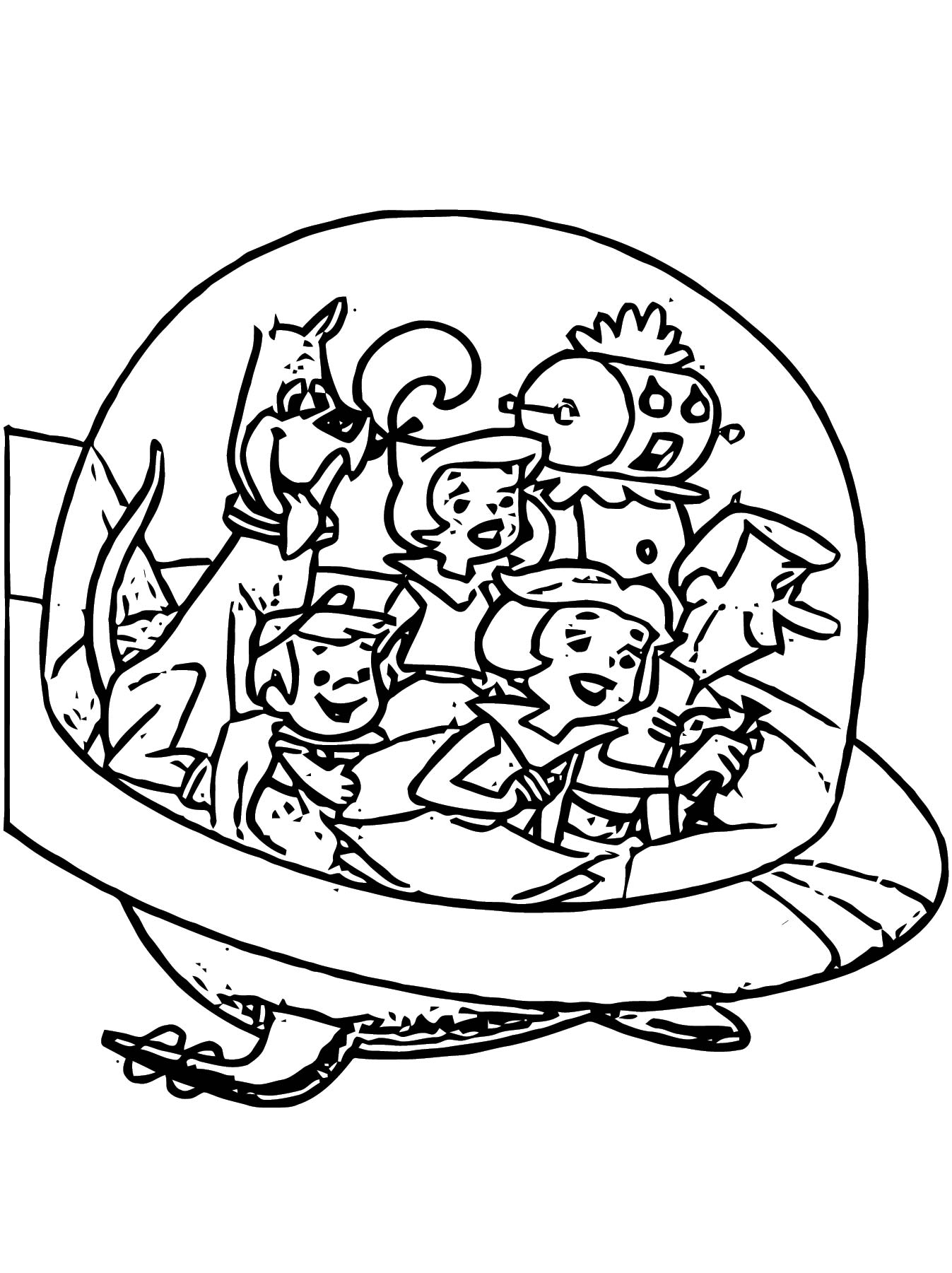 Jetsons 11 Coloring Page