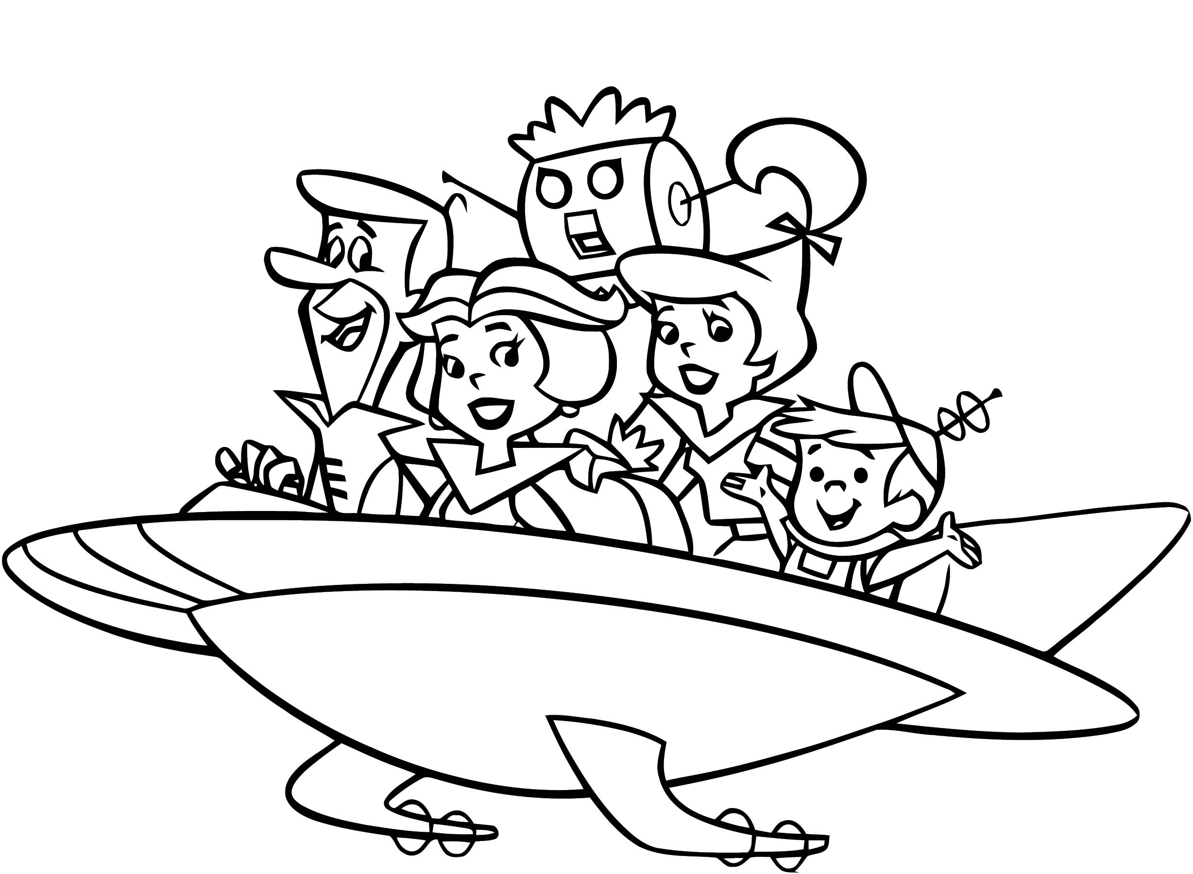 Jetsons 6 Coloring Page