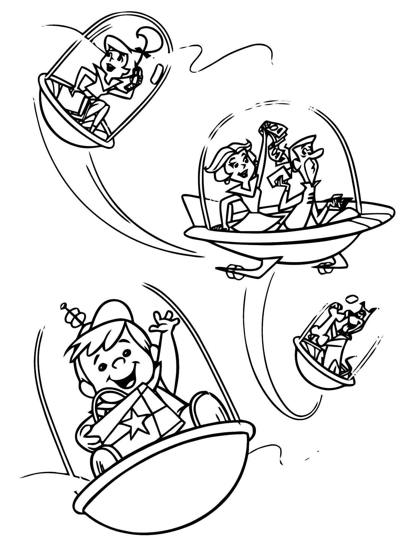 Jetsons 8 Coloring Page