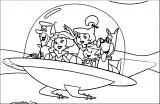 Jetsons Car Coloring Page