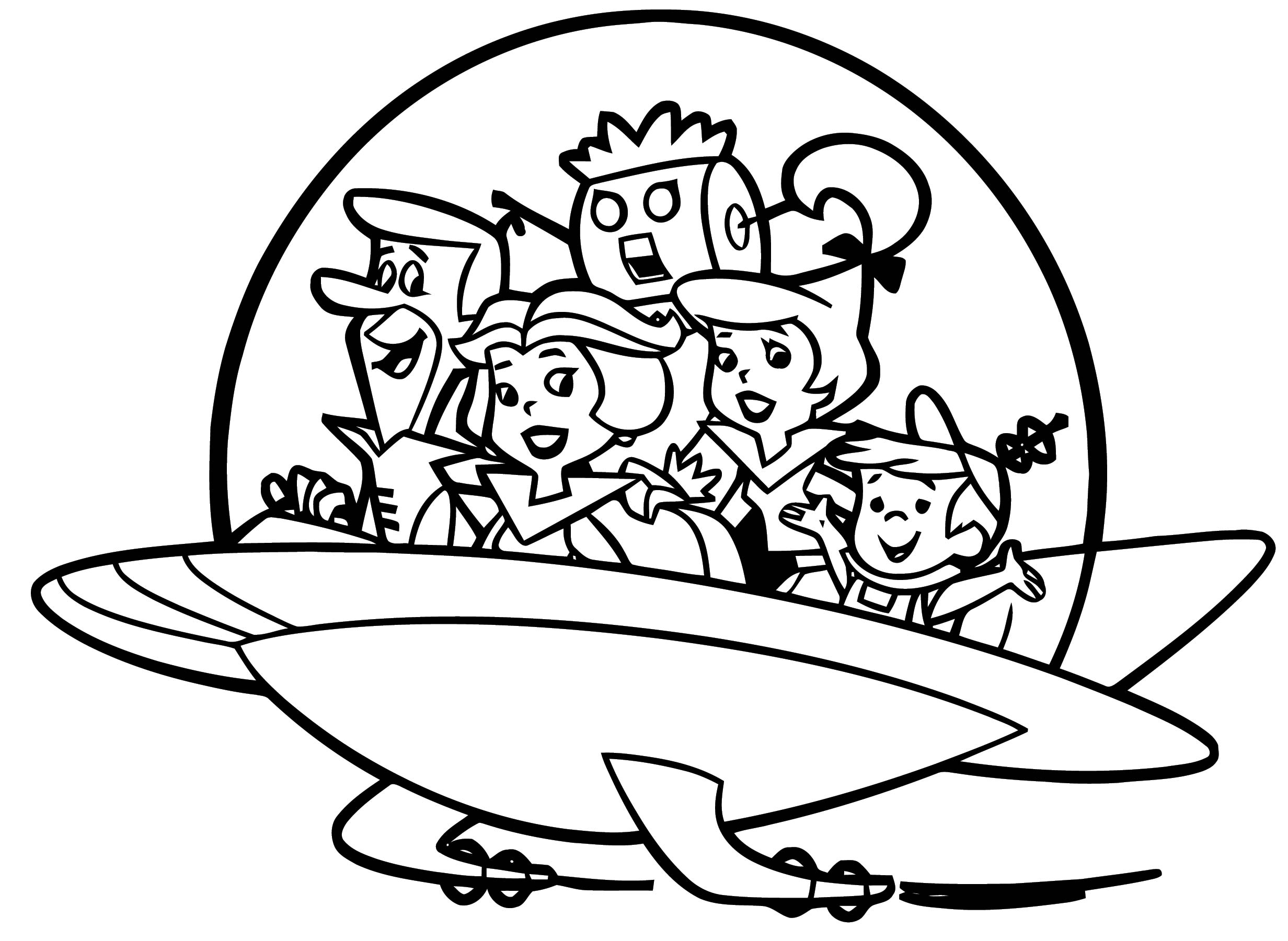 jetson coloring pages - photo#29