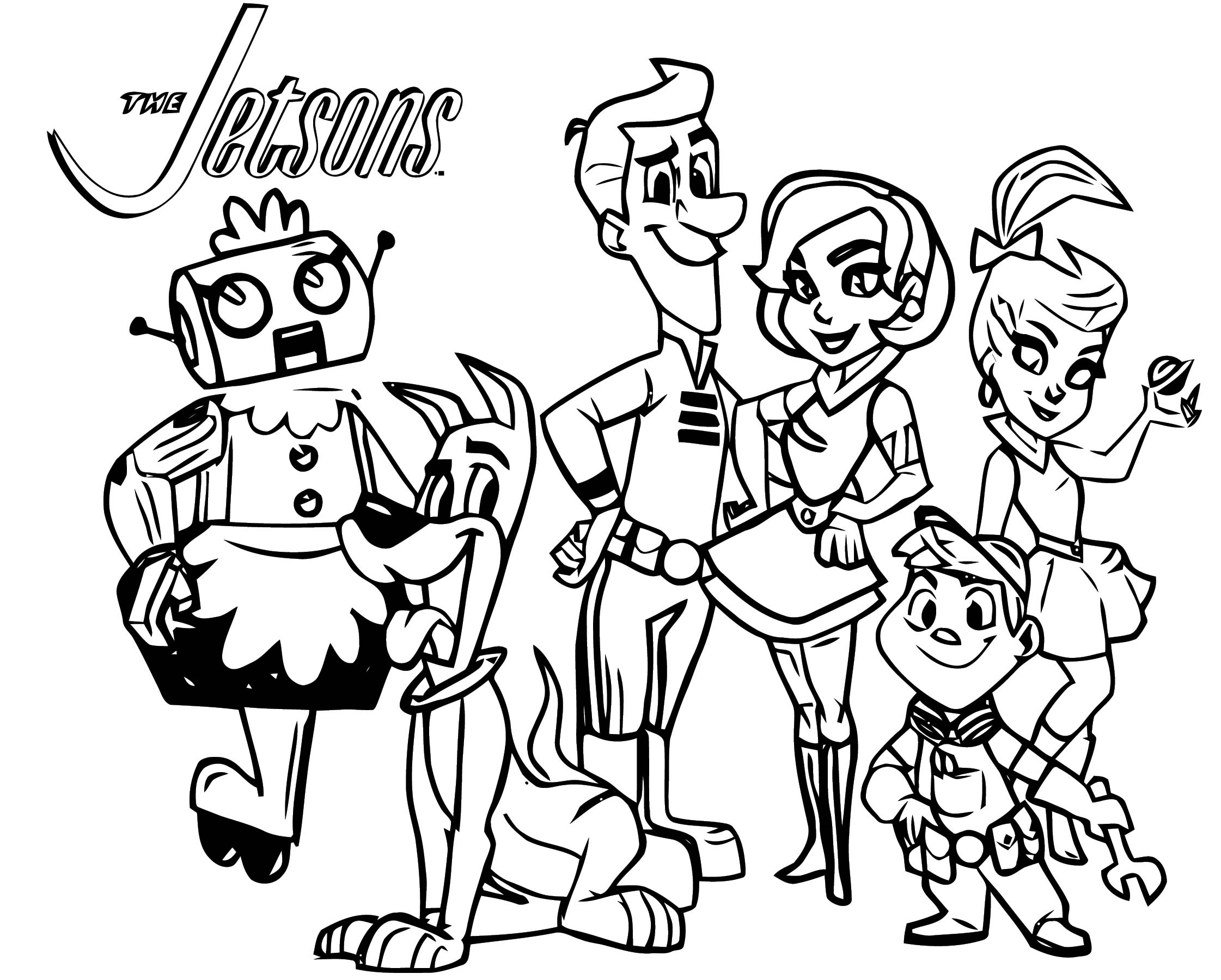 Jetsons Coloring Page 051