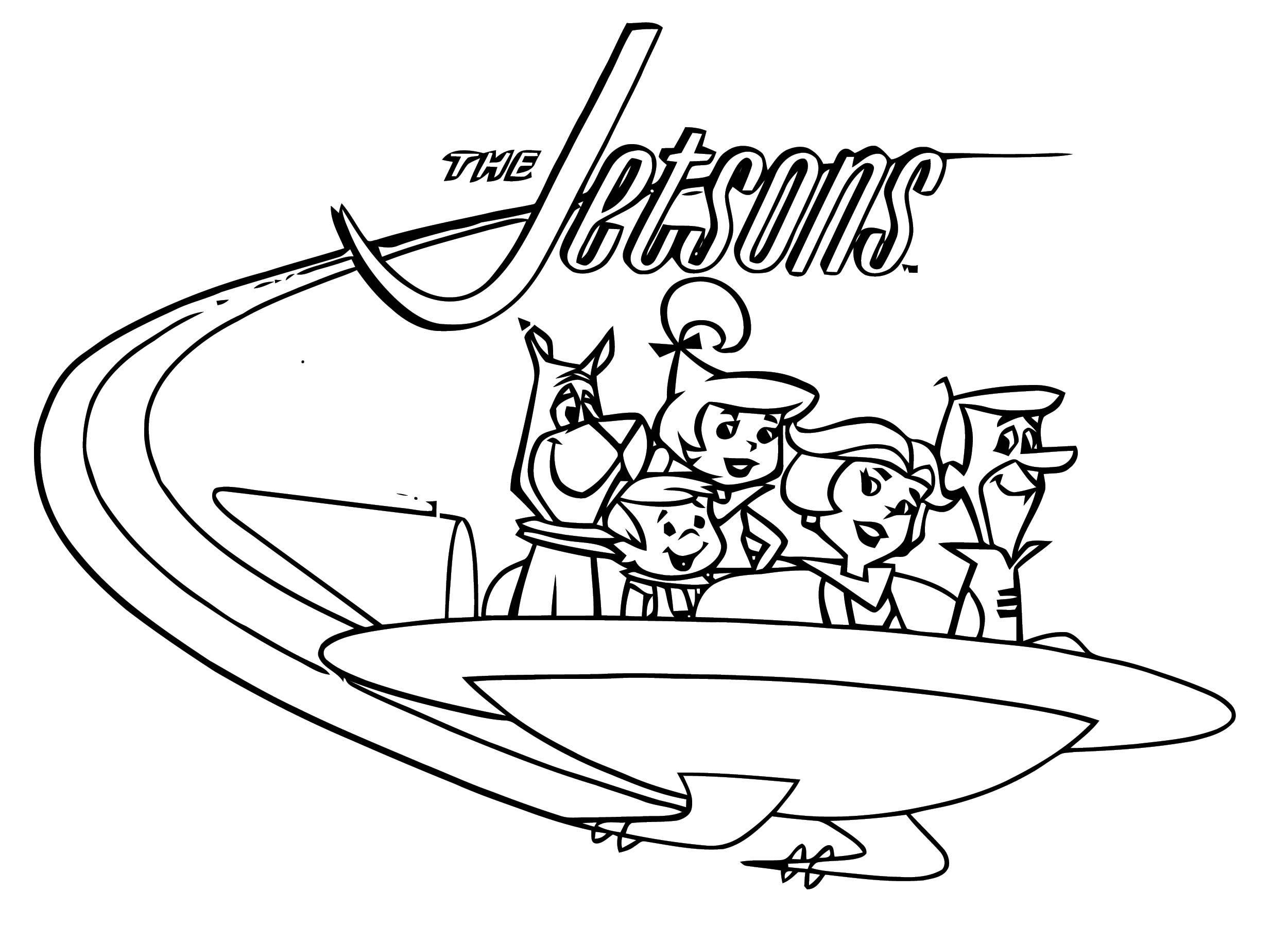 Jetsons Coloring Page 056