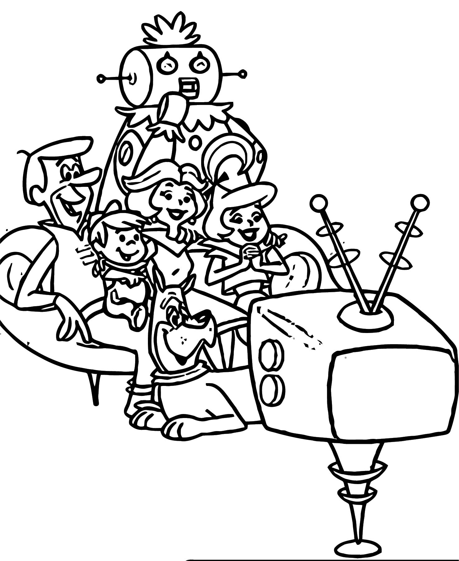 Jetsons Coloring Page 057