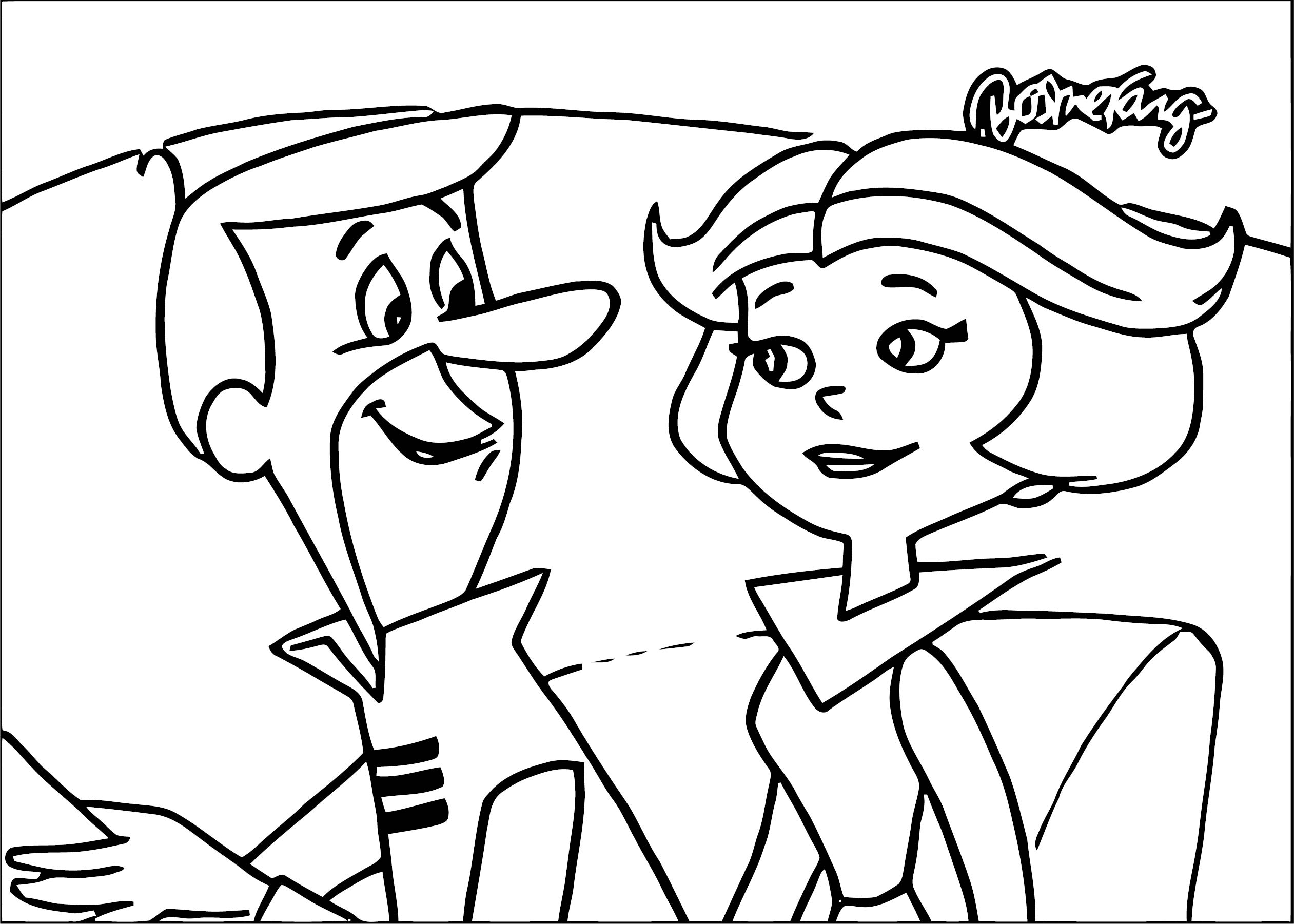 Jetsons Coloring Page 068