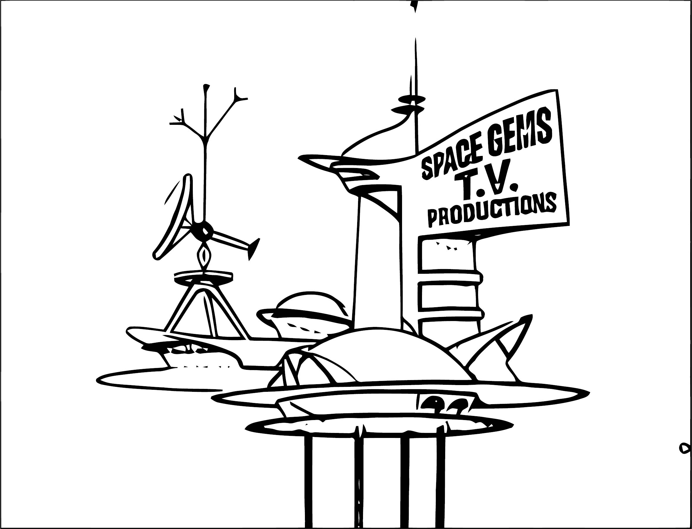 Jetsons Coloring Page 080