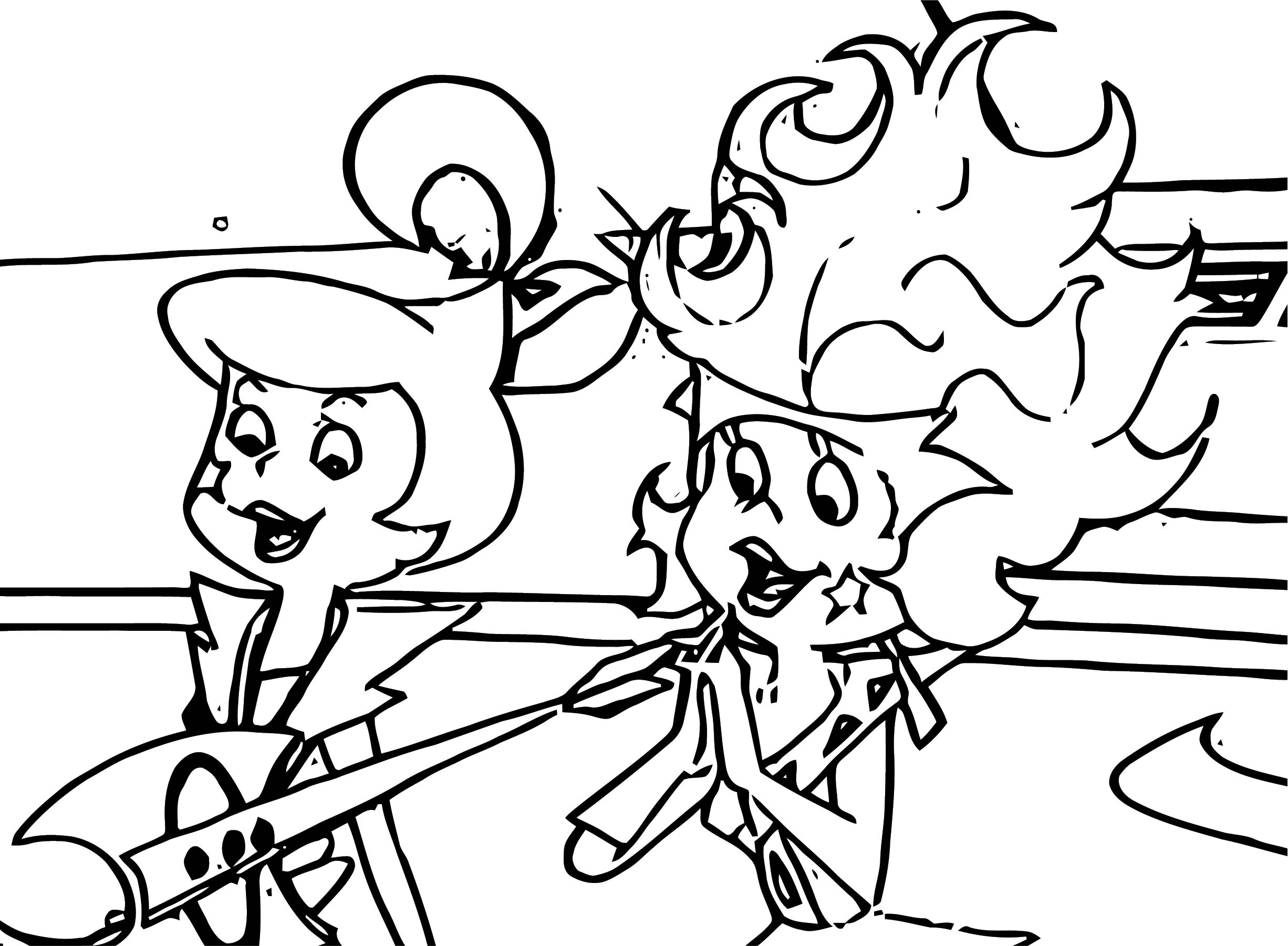 Jetsons Coloring Page 093