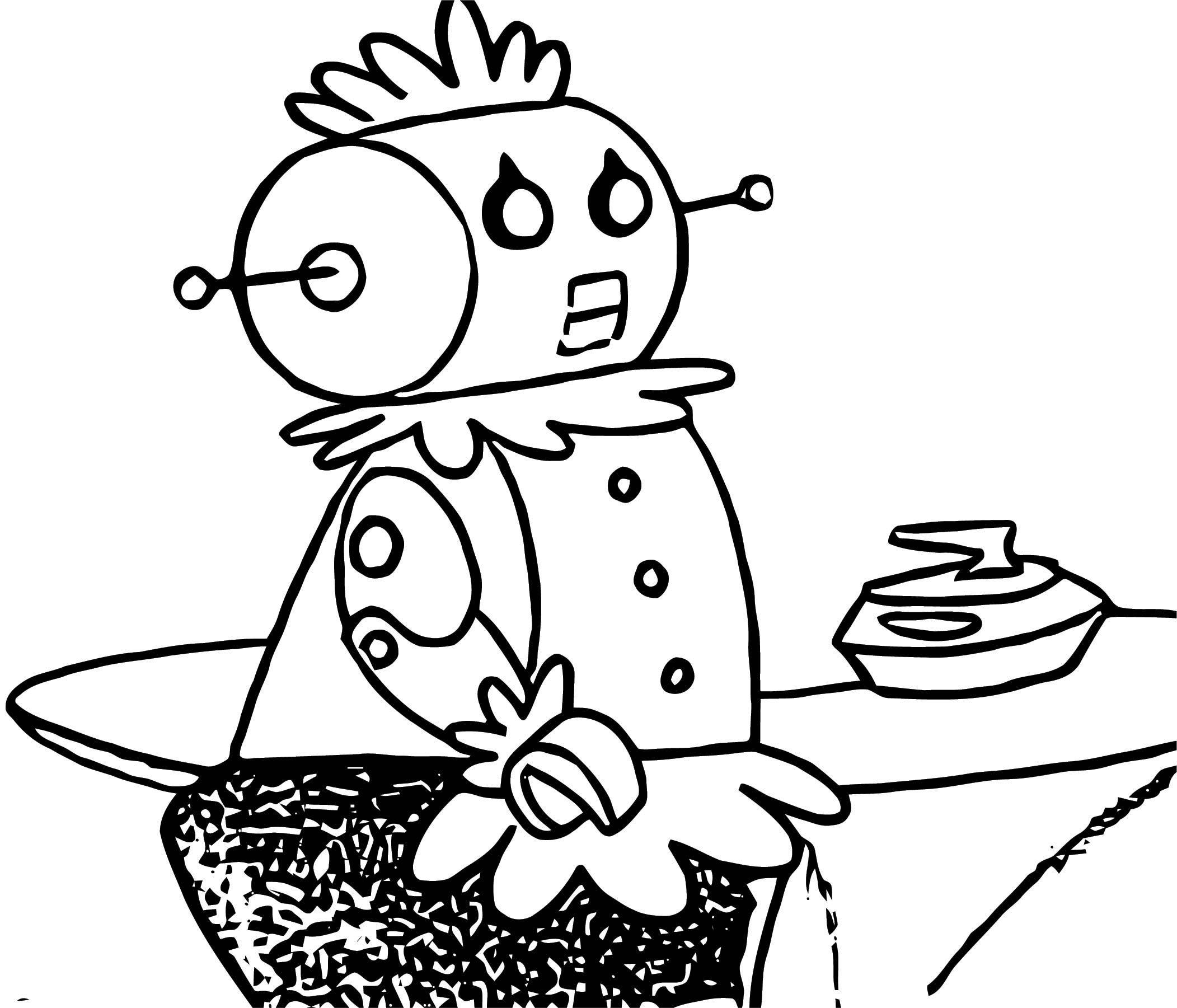 Jetsons Coloring Page 098