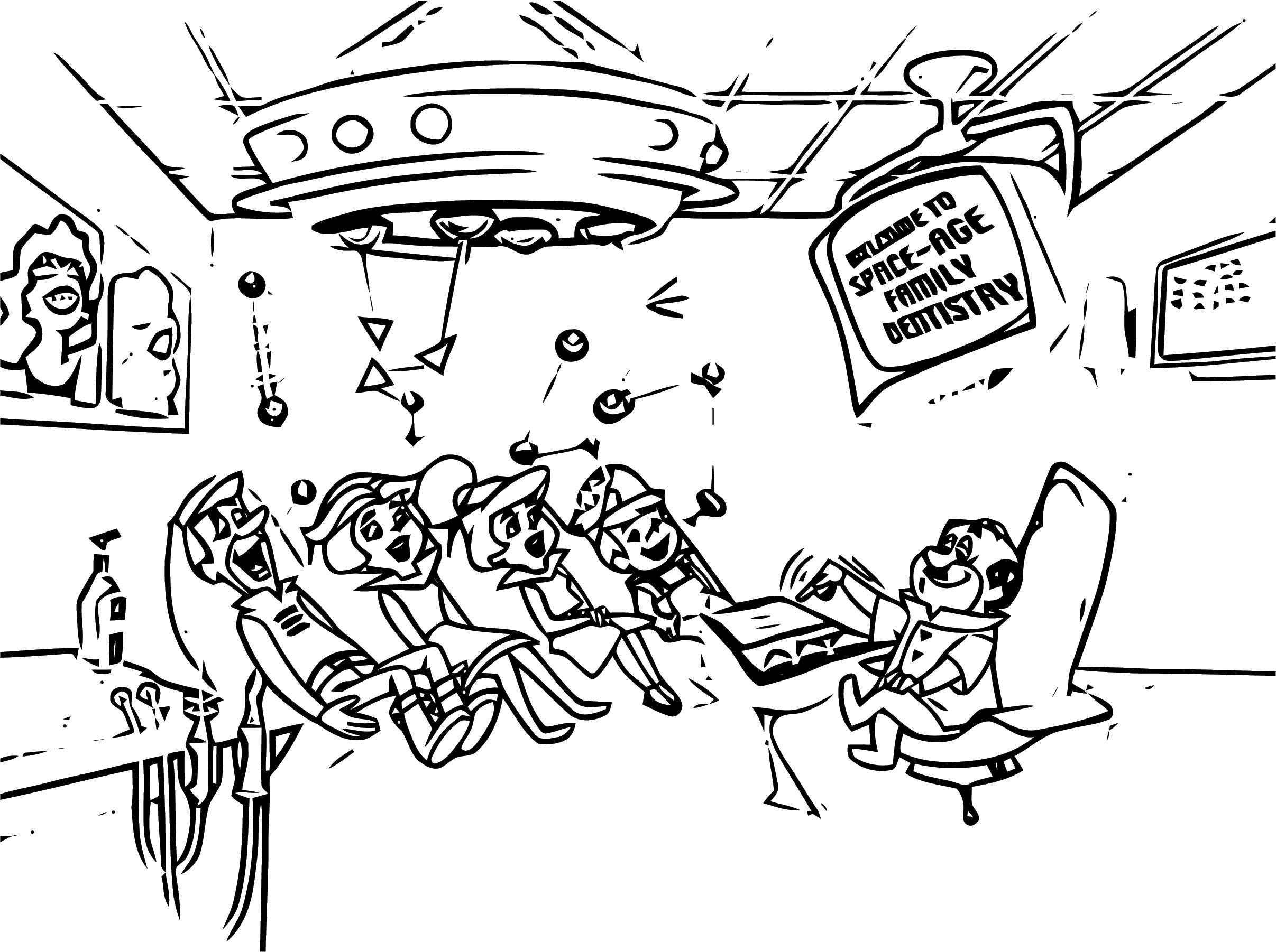 Jetsons Coloring Page 104