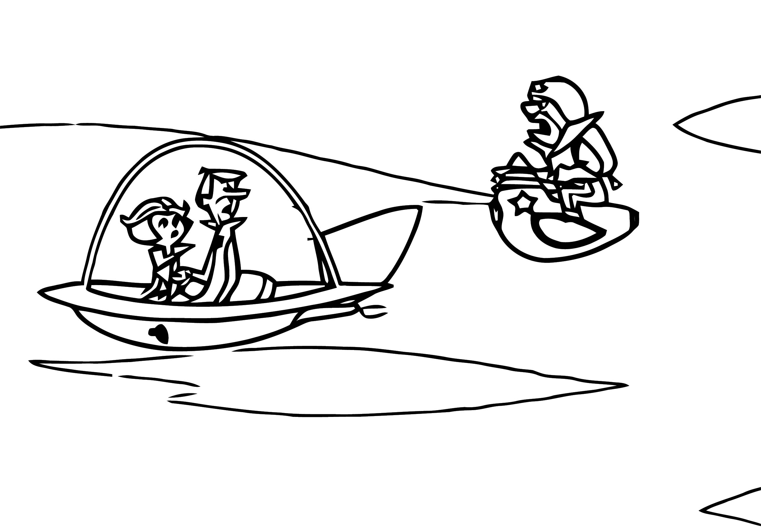 Jetsons Coloring Page 106