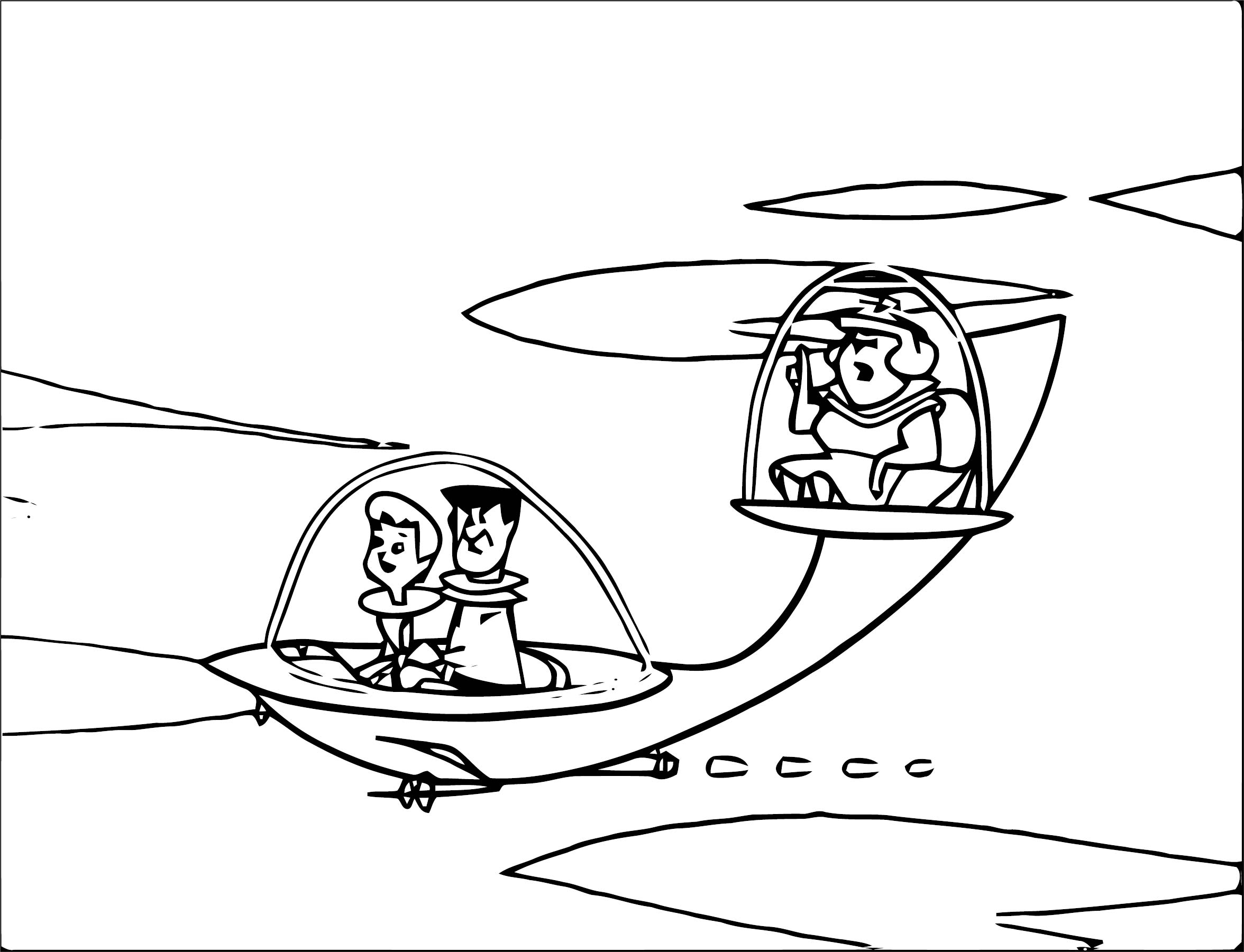Jetsons Coloring Page 107