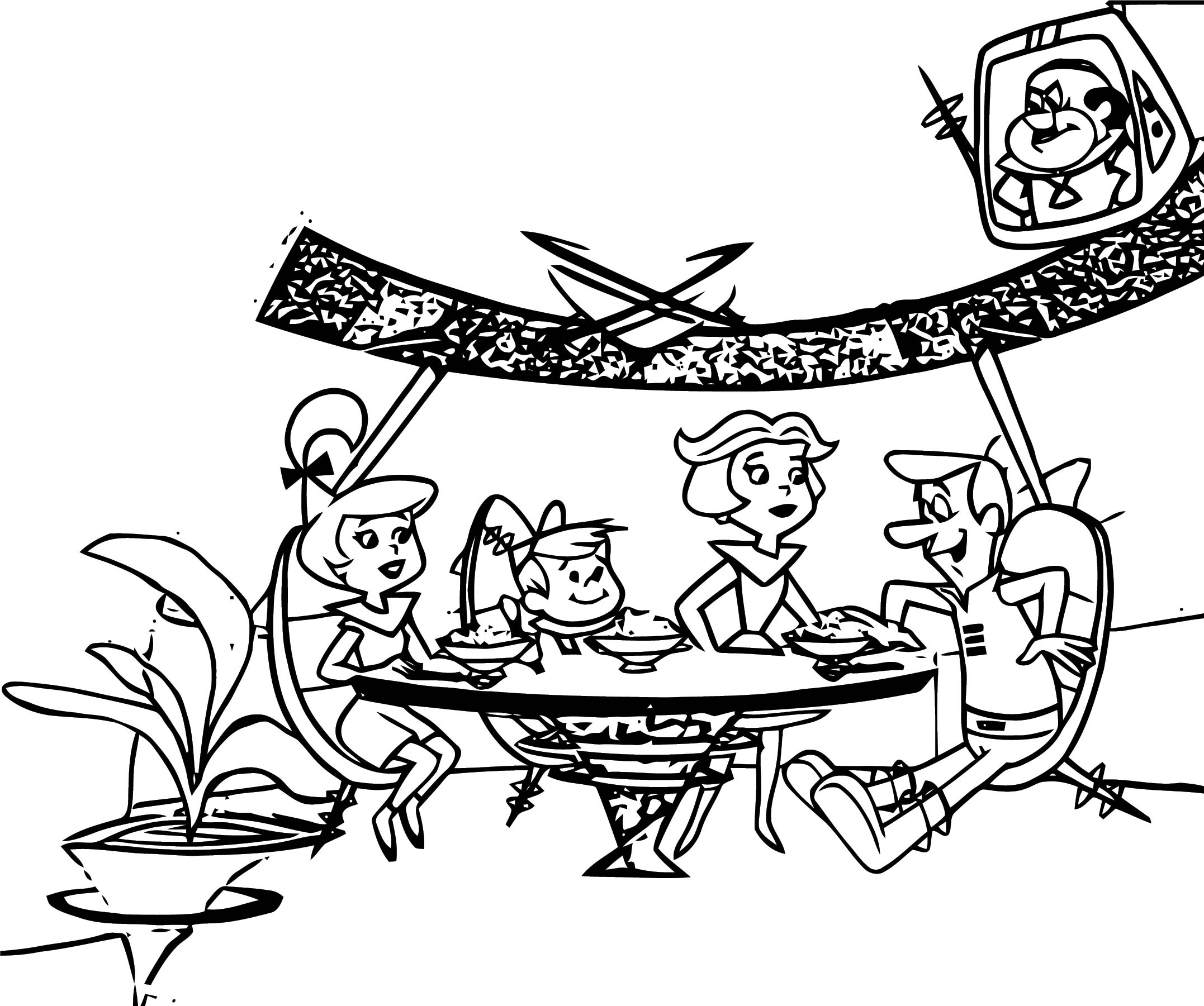 Jetsons Coloring Page 11
