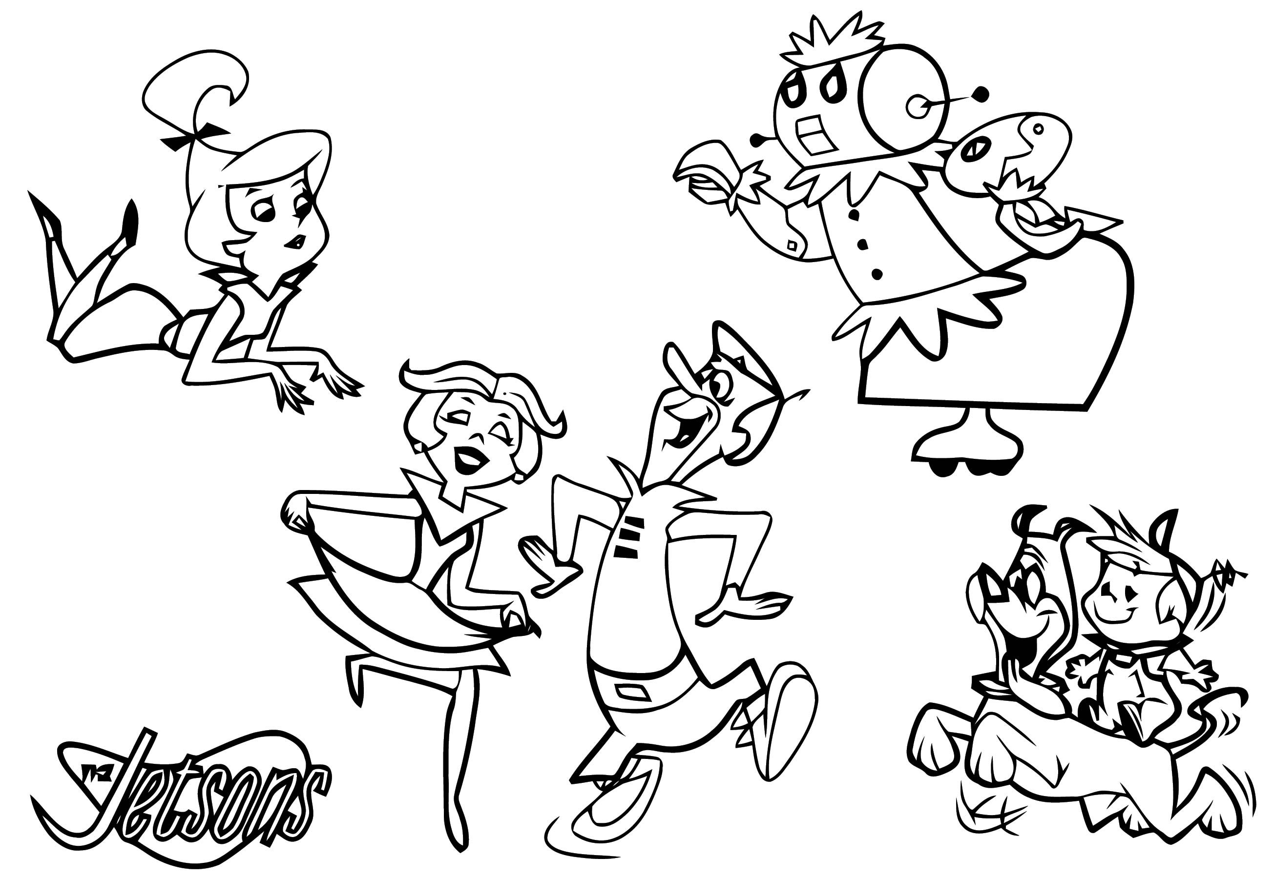 Jetsons Coloring Page 110