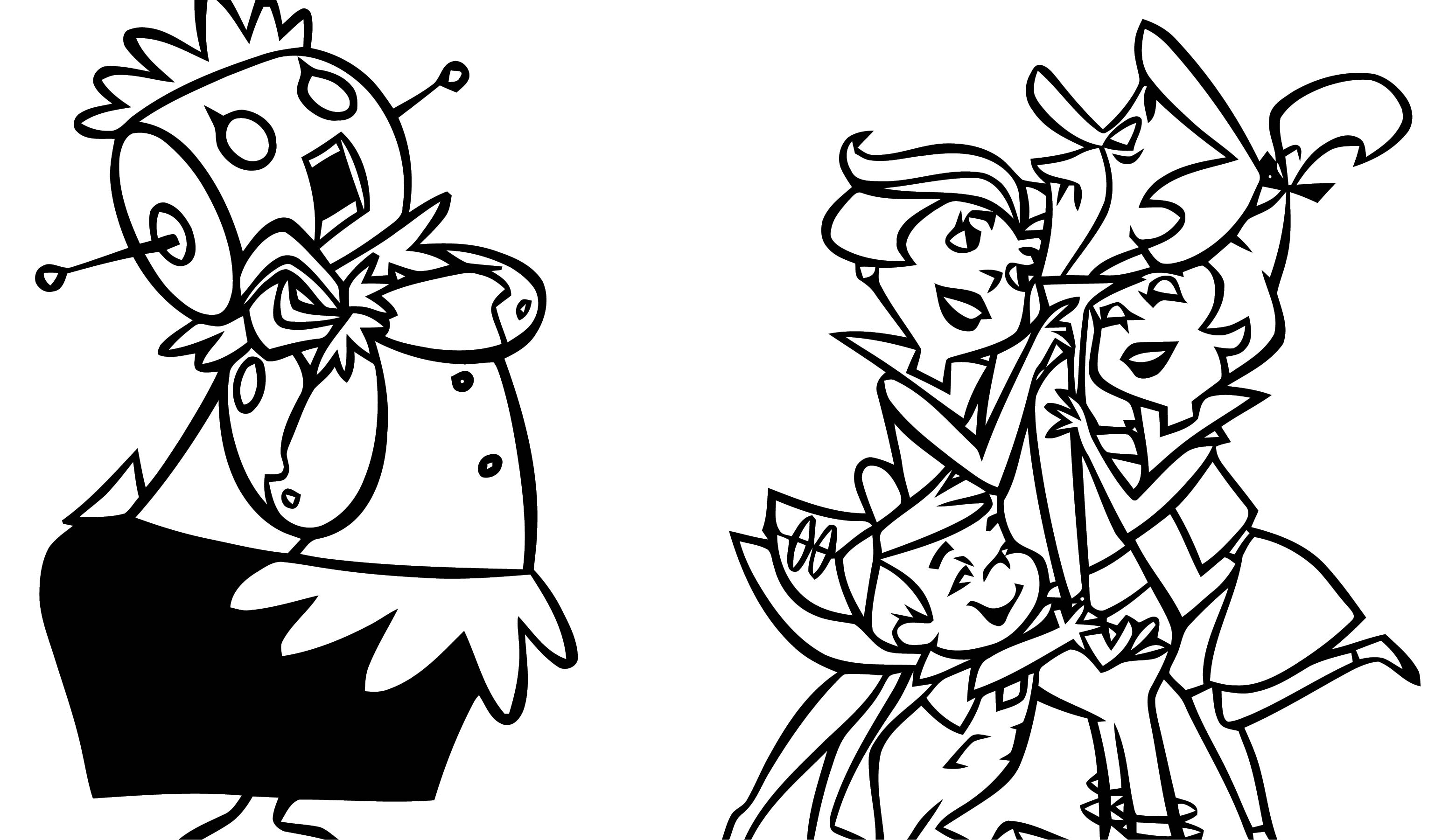 Jetsons Coloring Page 116