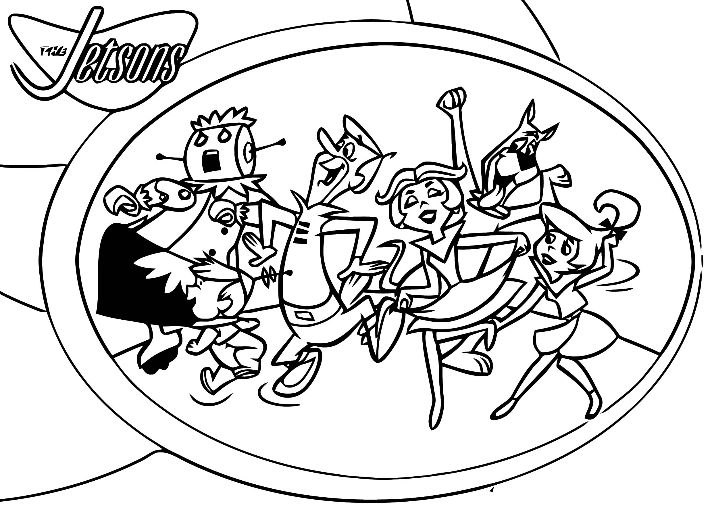Jetsons Coloring Page 118