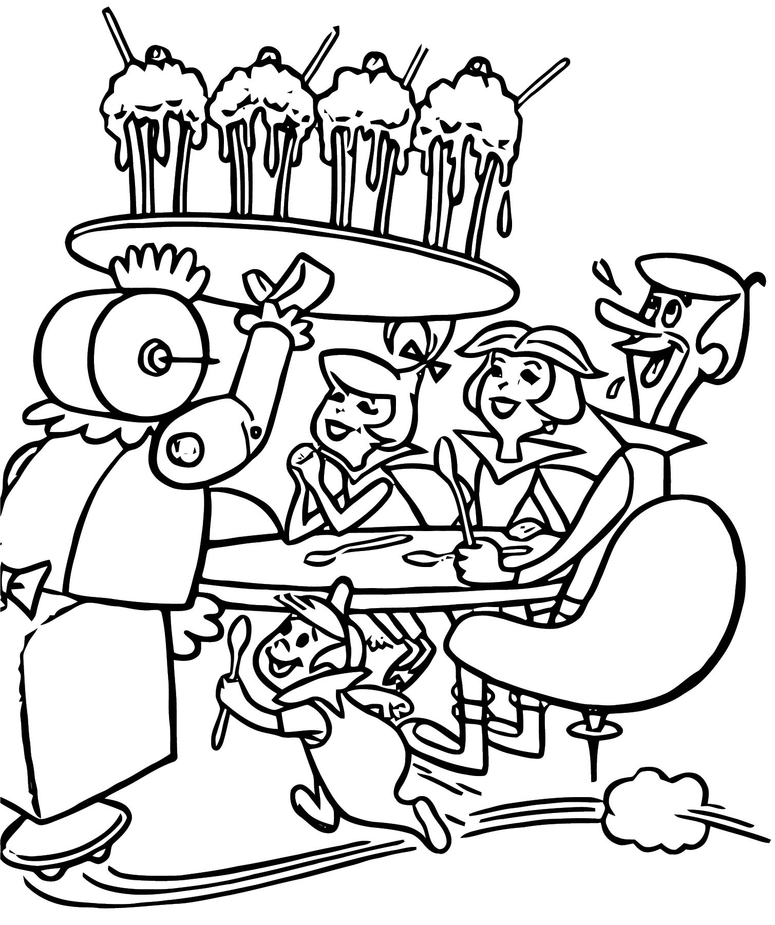 Jetsons Coloring Page 12