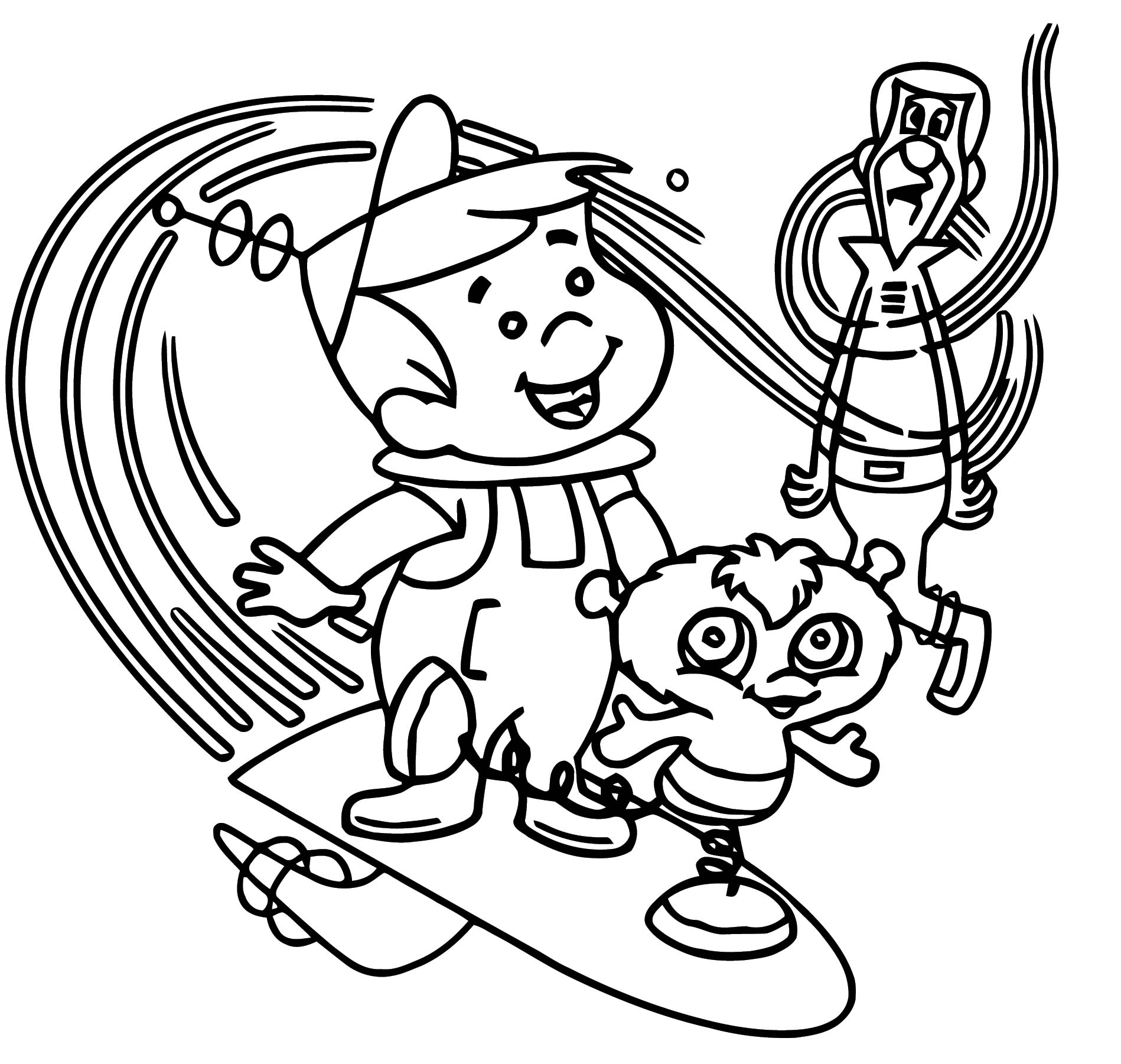 Jetsons Coloring Page 127