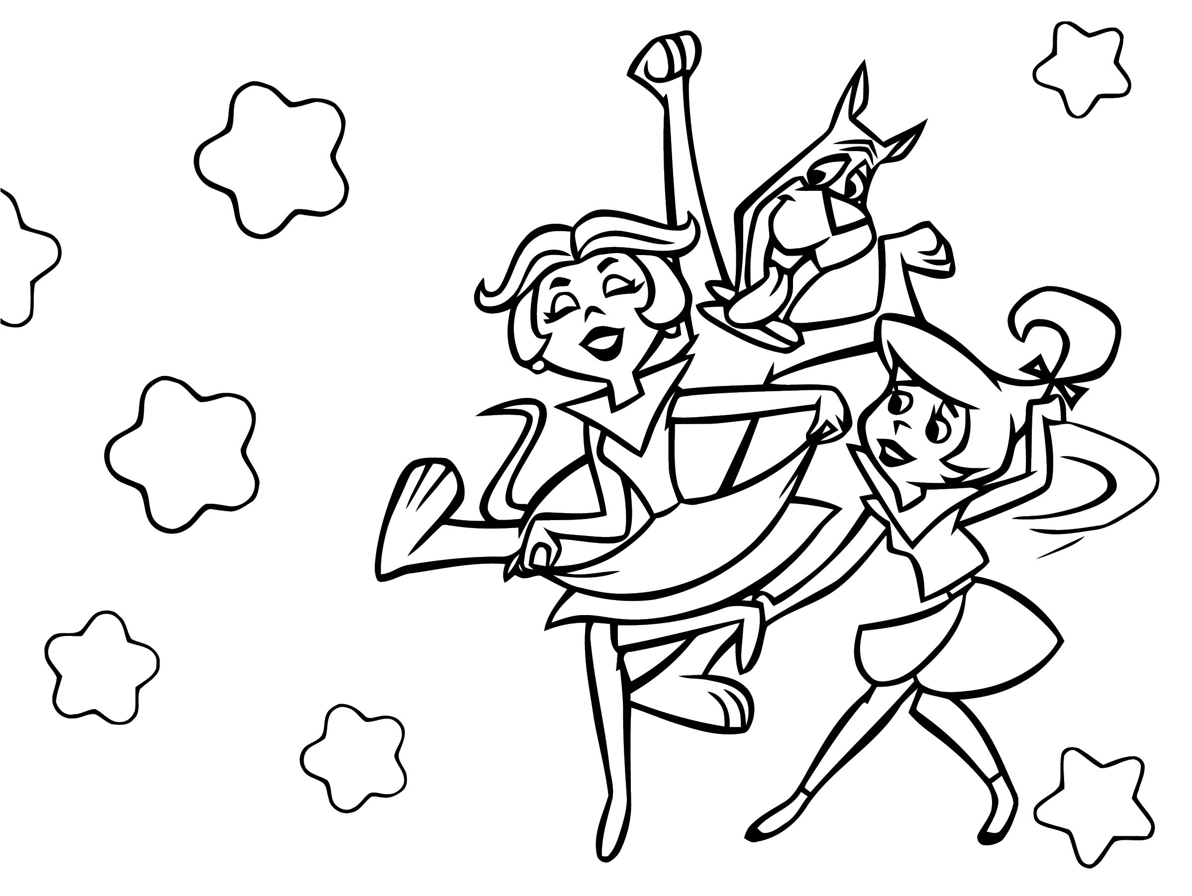 Jetsons Coloring Page 130