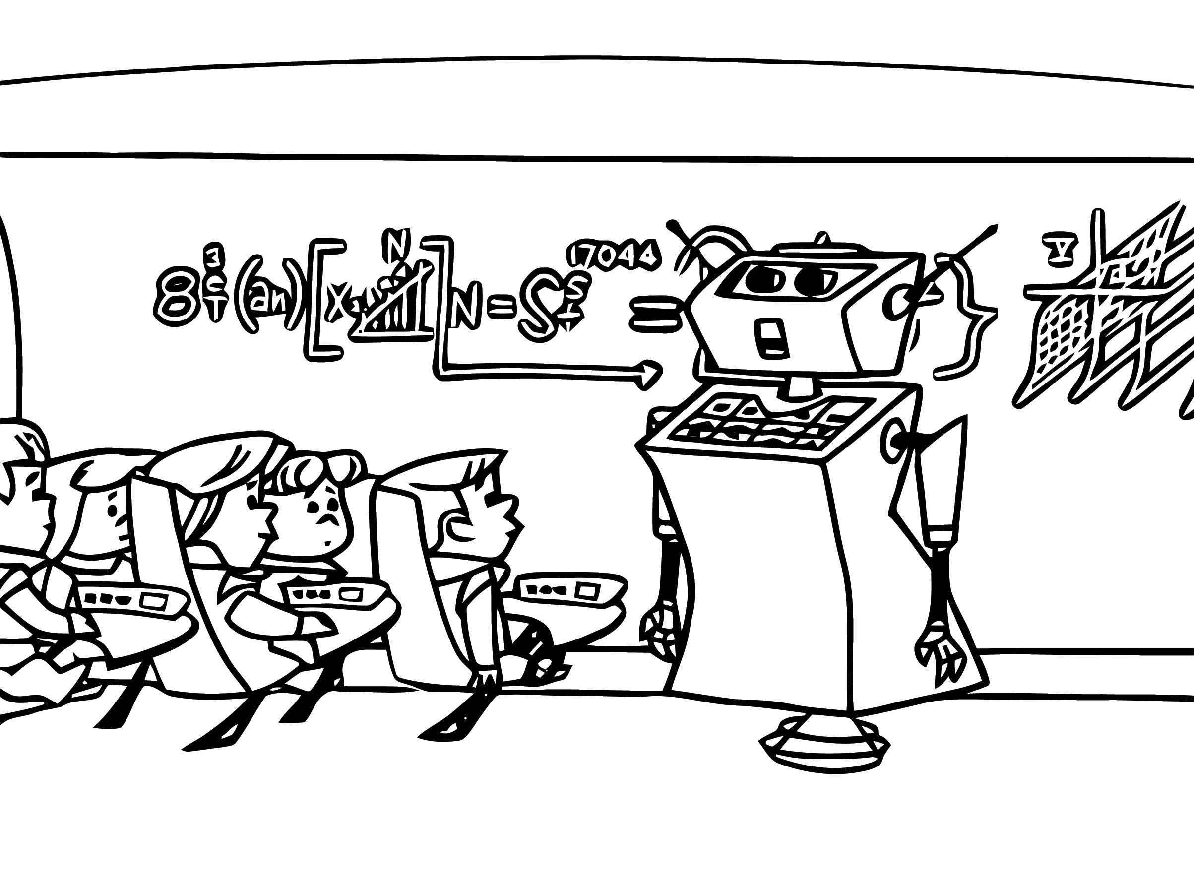 Jetsons Coloring Page 14