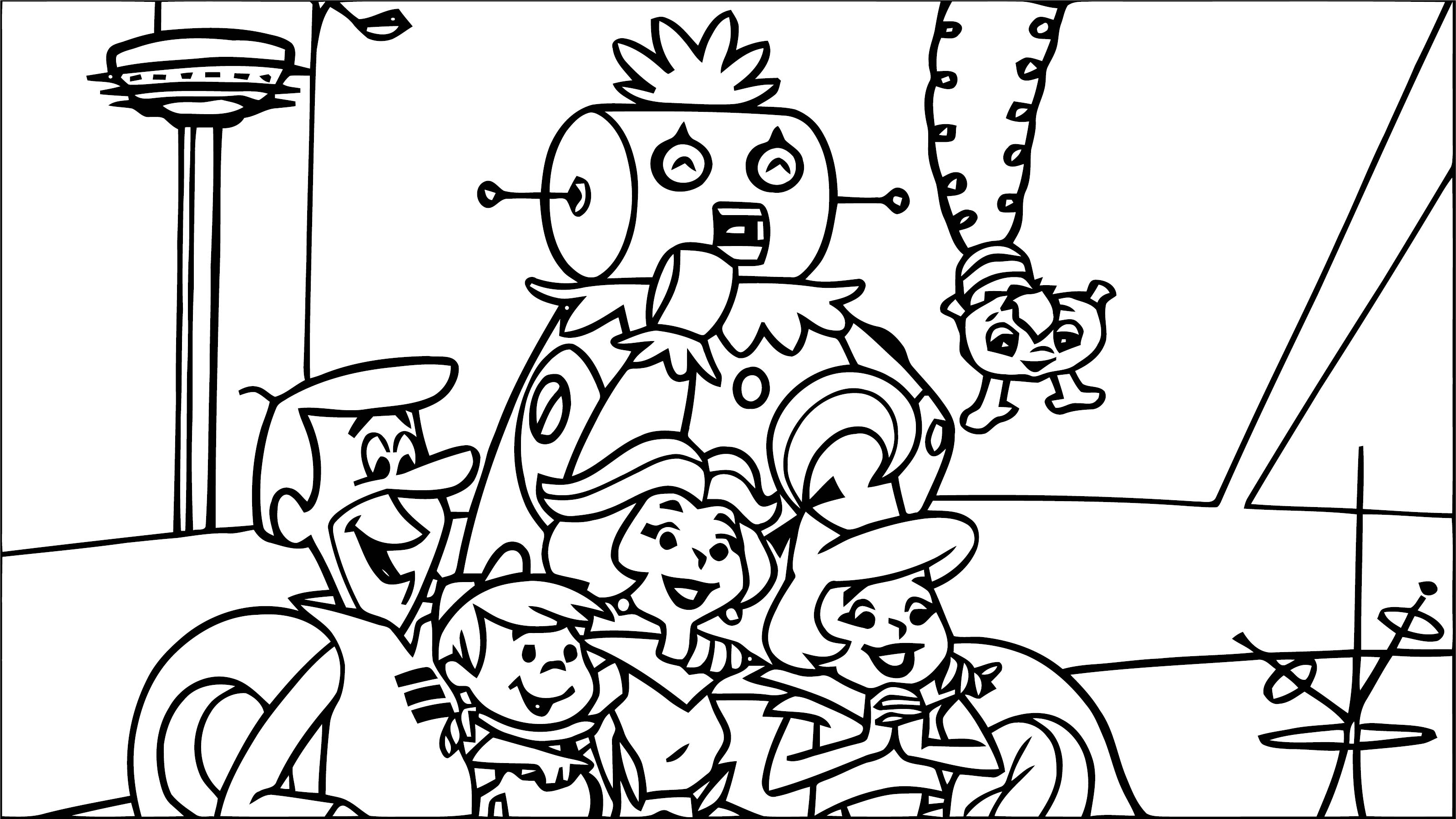 Jetsons Coloring Page 20