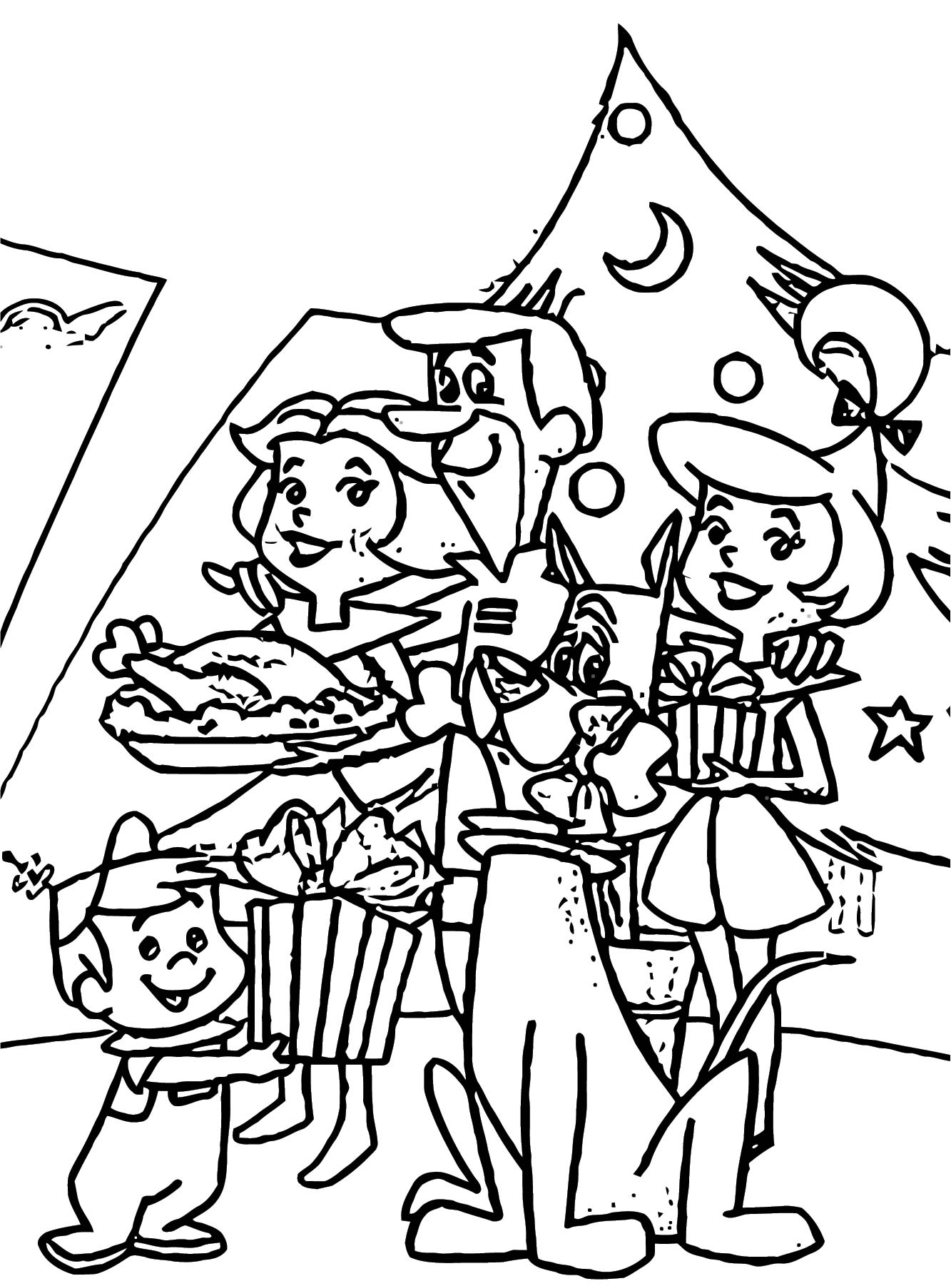 Jetsons Coloring Page 24
