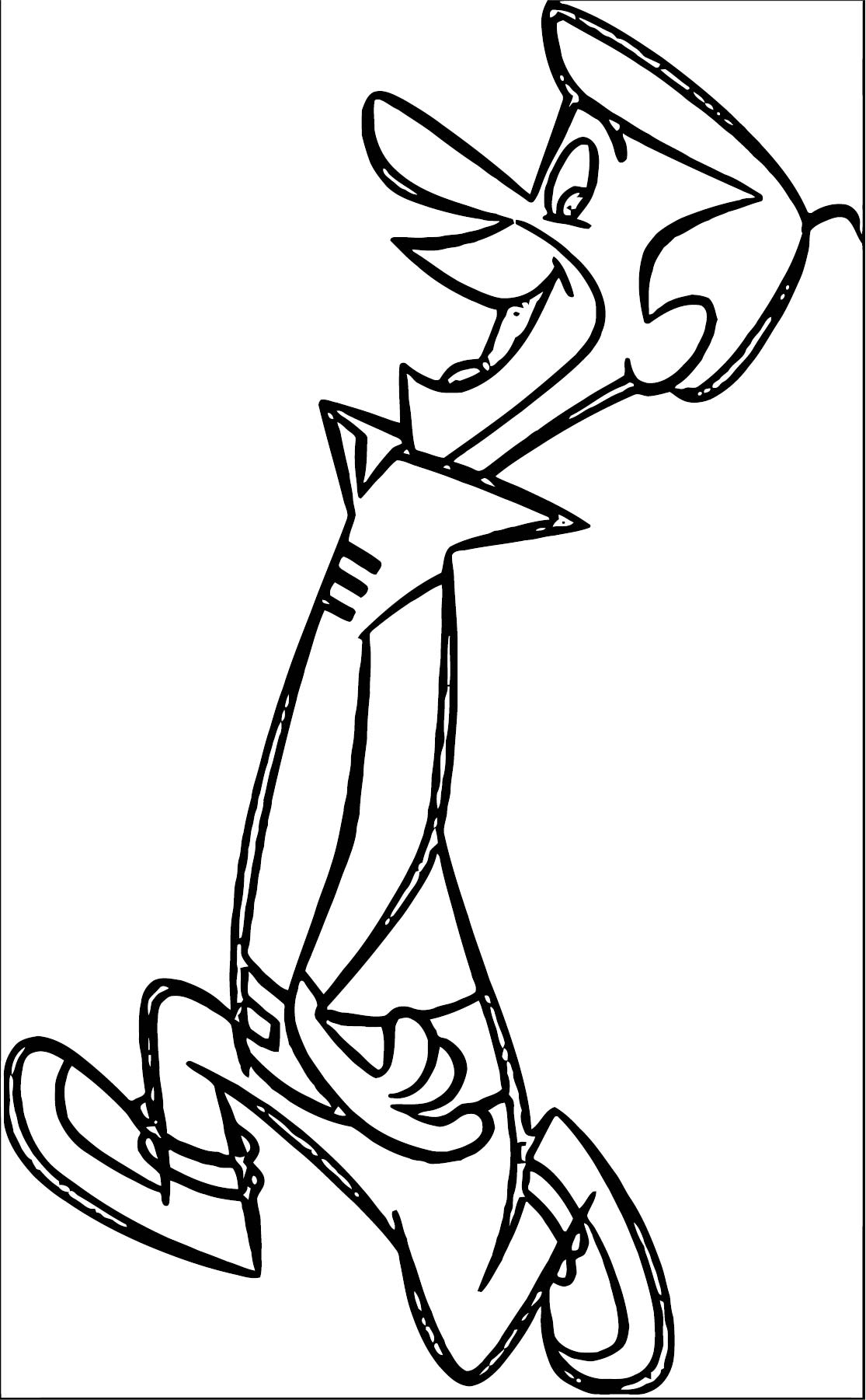 Jetsons Coloring Page 3