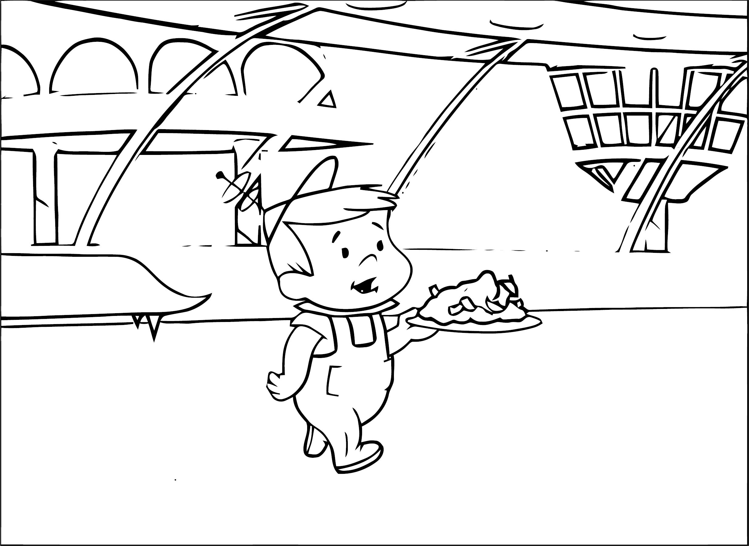 Jetsons Elroy Coloring Page