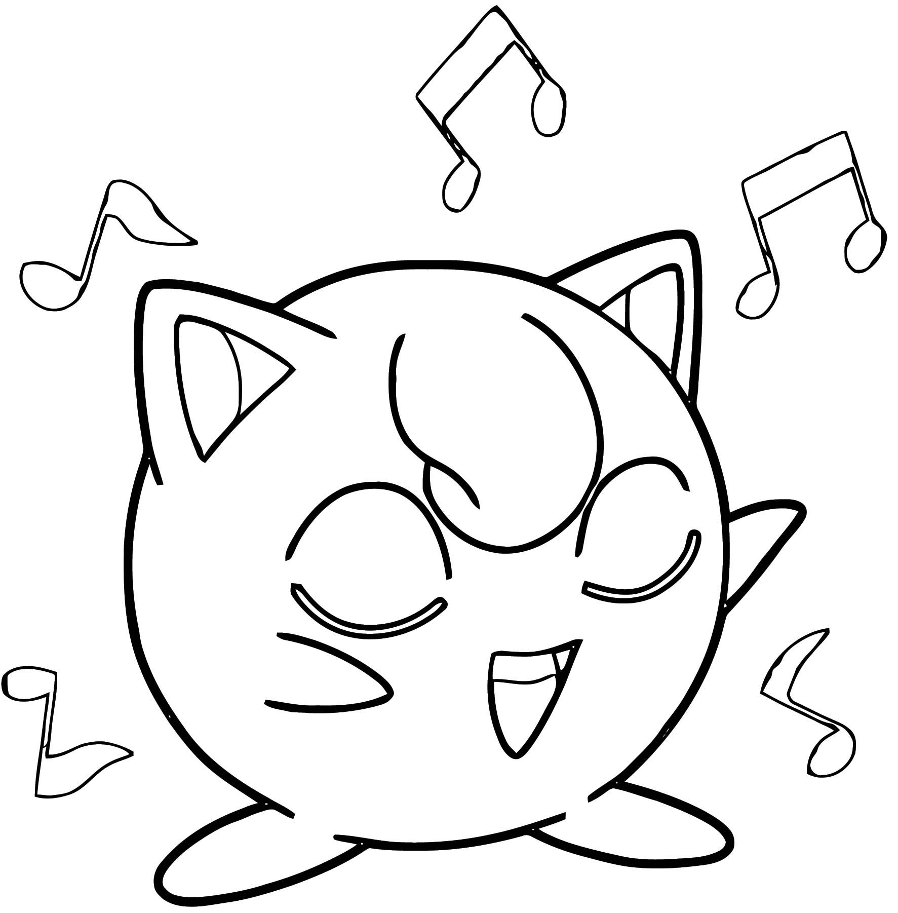 Jigglypuff Coloring Page WeColoringPage 007