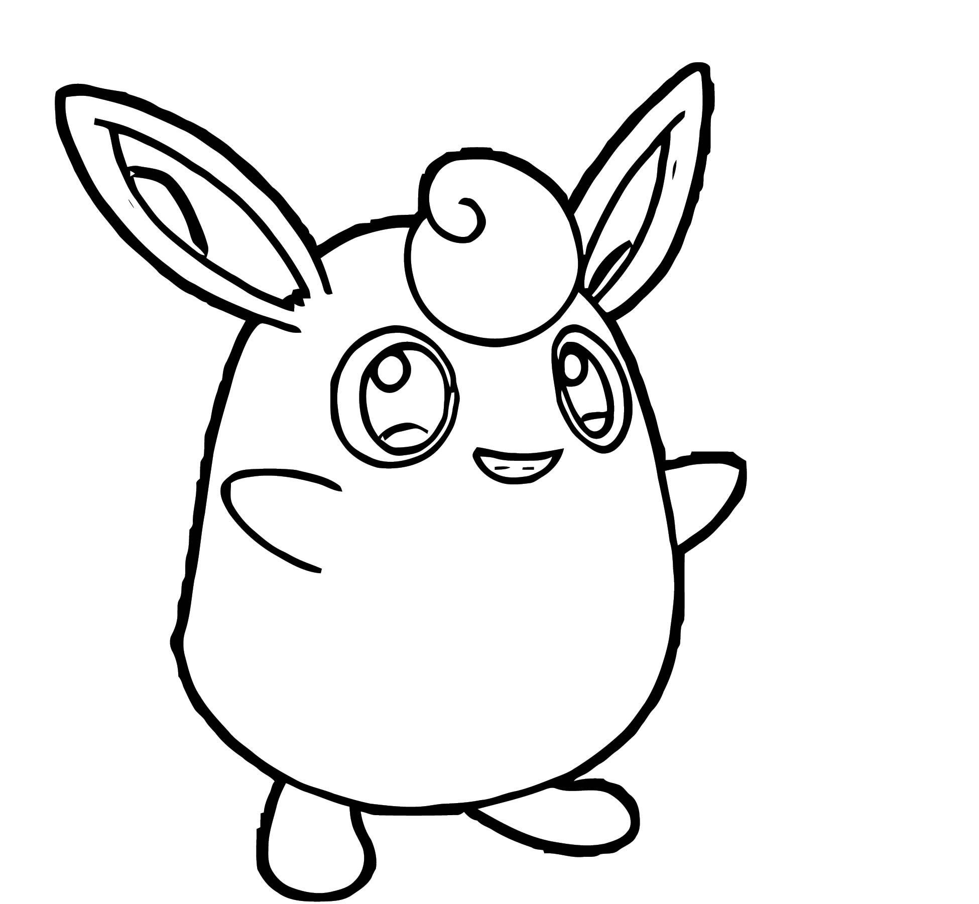 Jigglypuff Coloring Page WeColoringPage 009