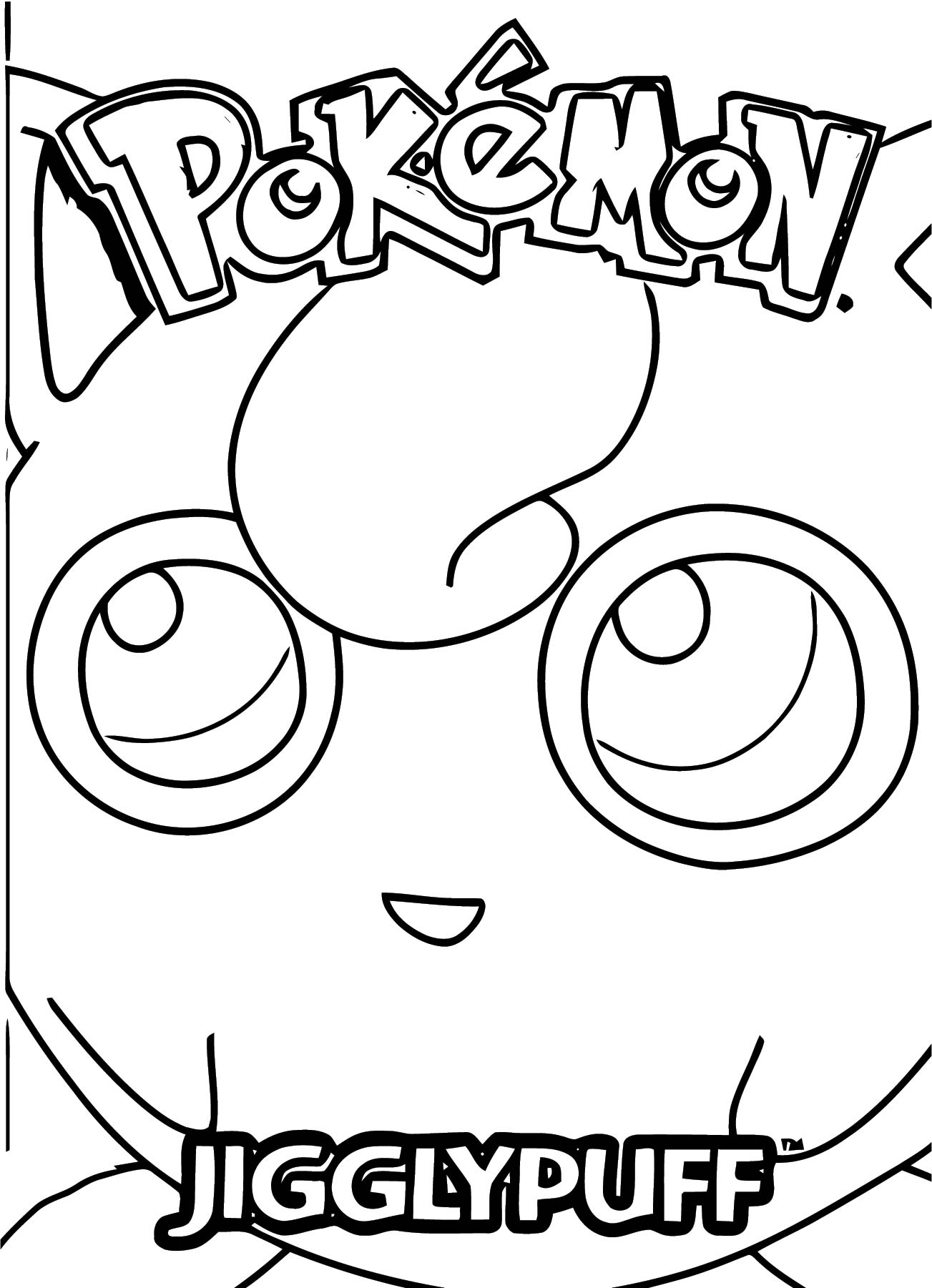 Jigglypuff Coloring Page WeColoringPage 011